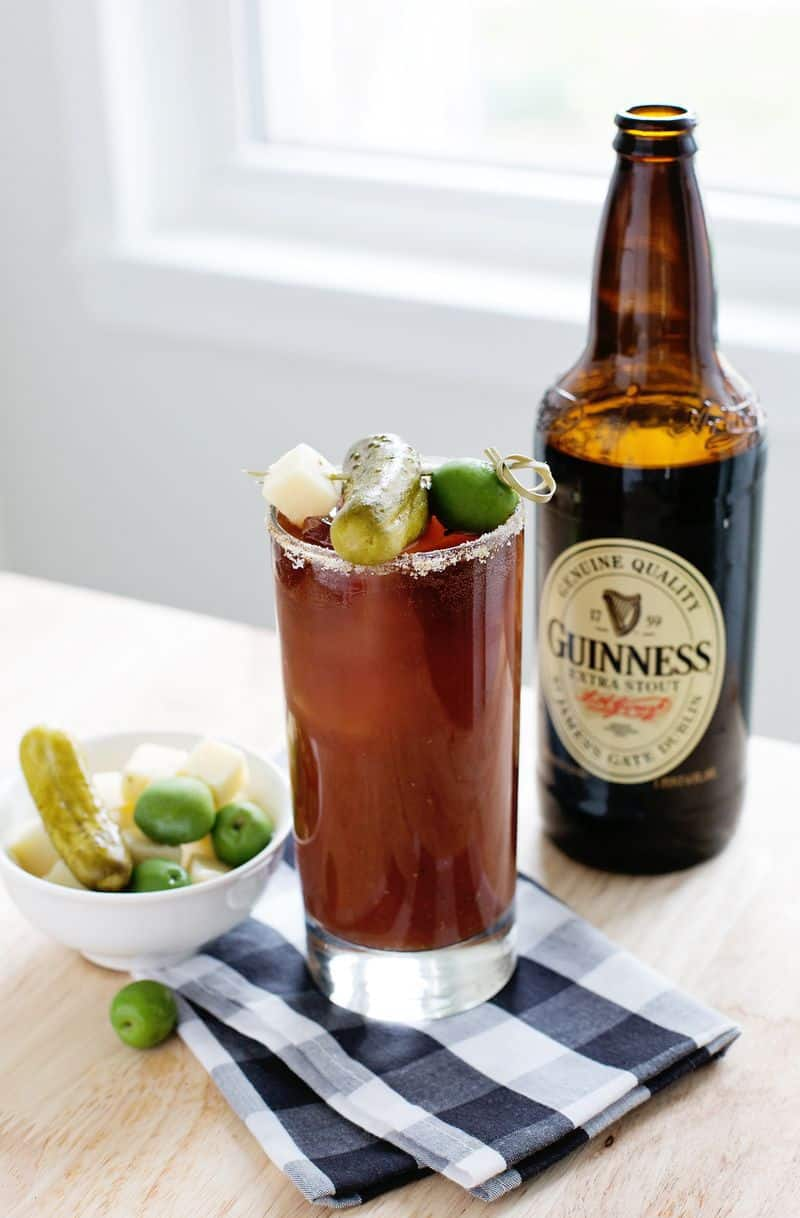 guinness bloody mary a beautiful mess. Black Bedroom Furniture Sets. Home Design Ideas