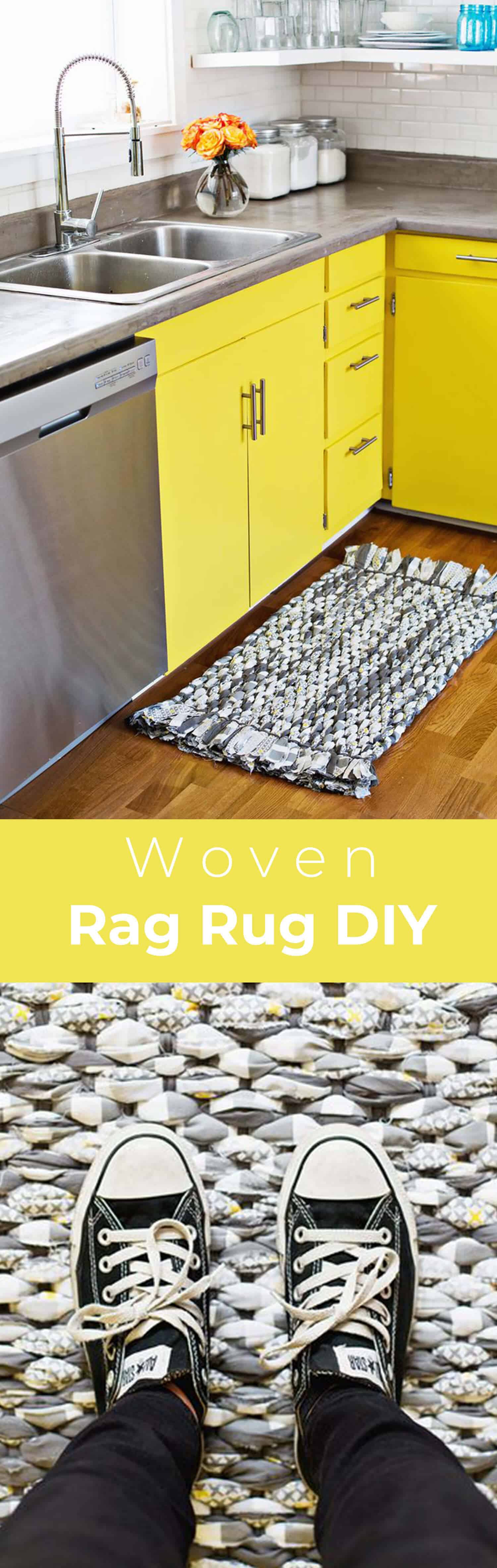 Make Your Own Woven Rag Rug - A
