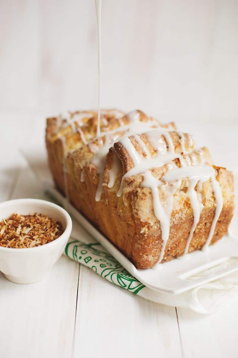 Coconut & Lime Pull-Apart Bread