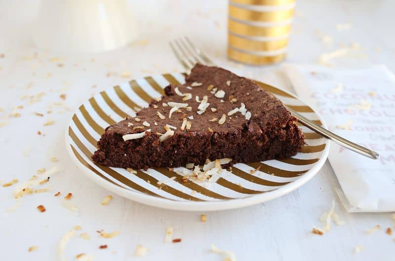 Flourless Chocolate (Coconut) Cake