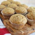 Sauerrahm-Kürbis-Muffins