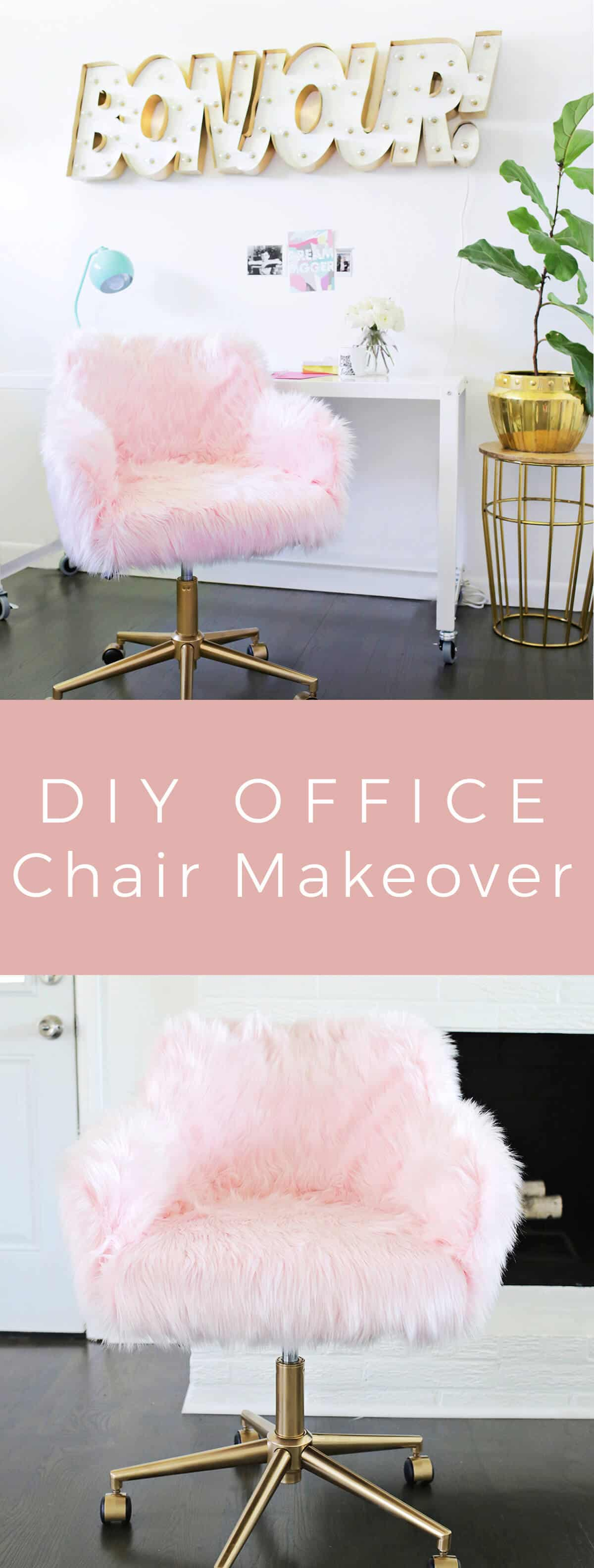 Image of: Project Restyle Office Chair Makeover A Beautiful Mess