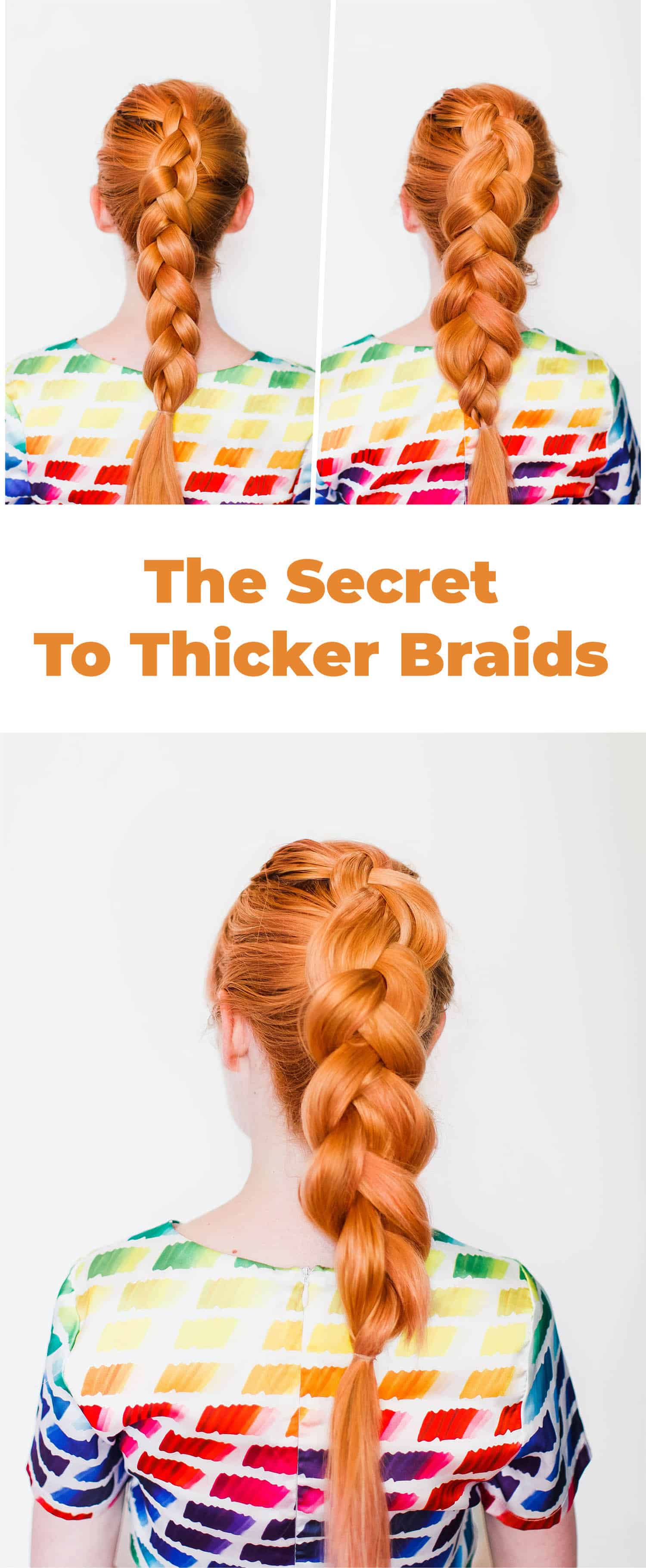 The Secret To Thicker Braids A Beautiful Mess