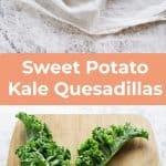 Süßkartoffel-Grünkohl-Quesadillas