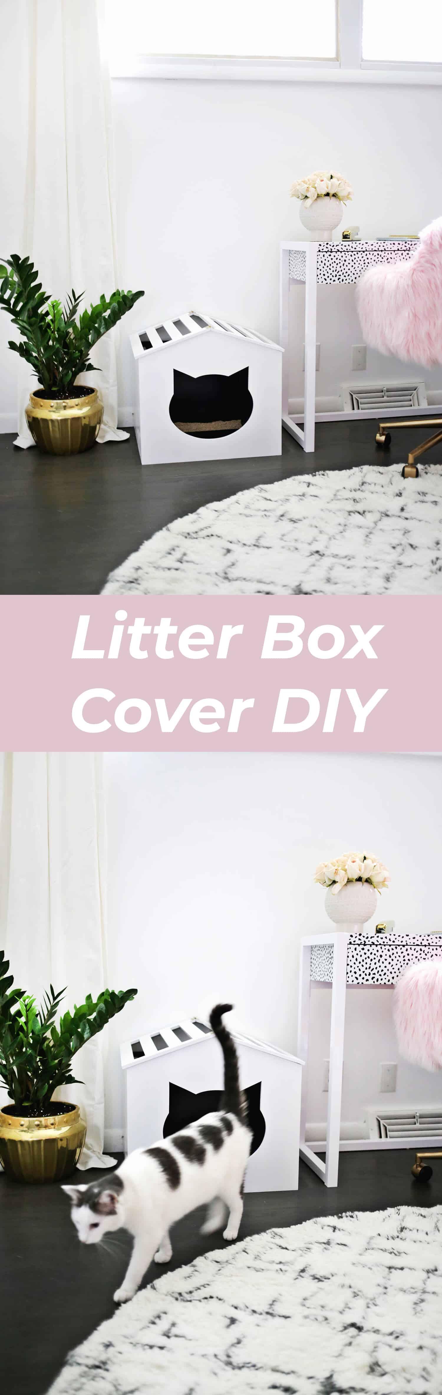 Litter Box Cover Diy A Beautiful Mess