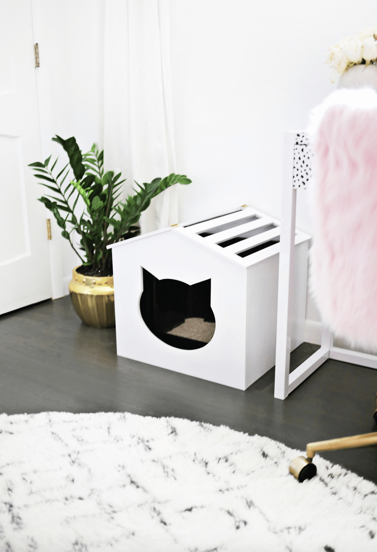 Litter Box Cover DIY!