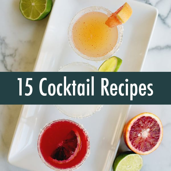 15 Cocktail Recipes