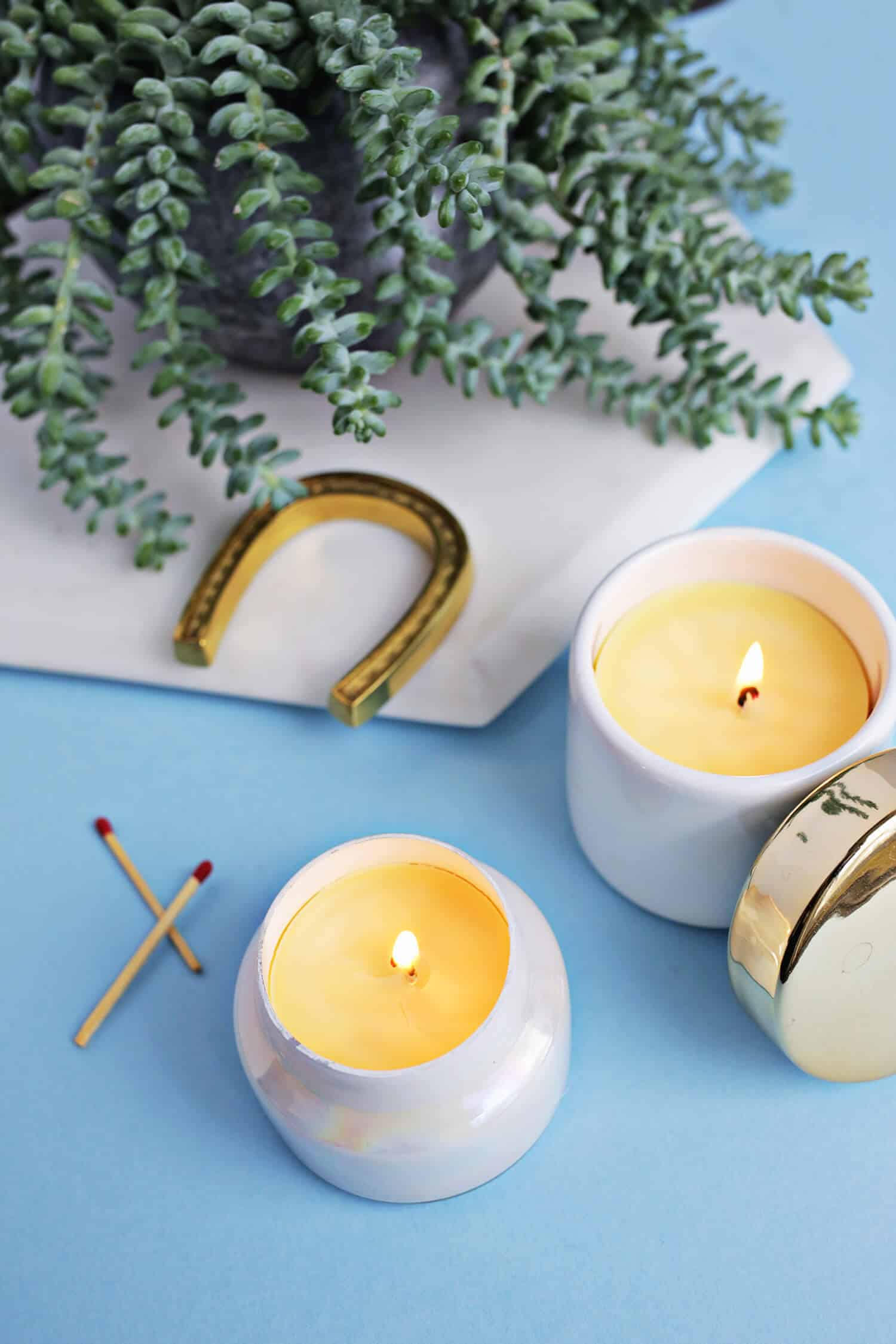 Make Your Own Beeswax Candles! - A Beautiful Mess