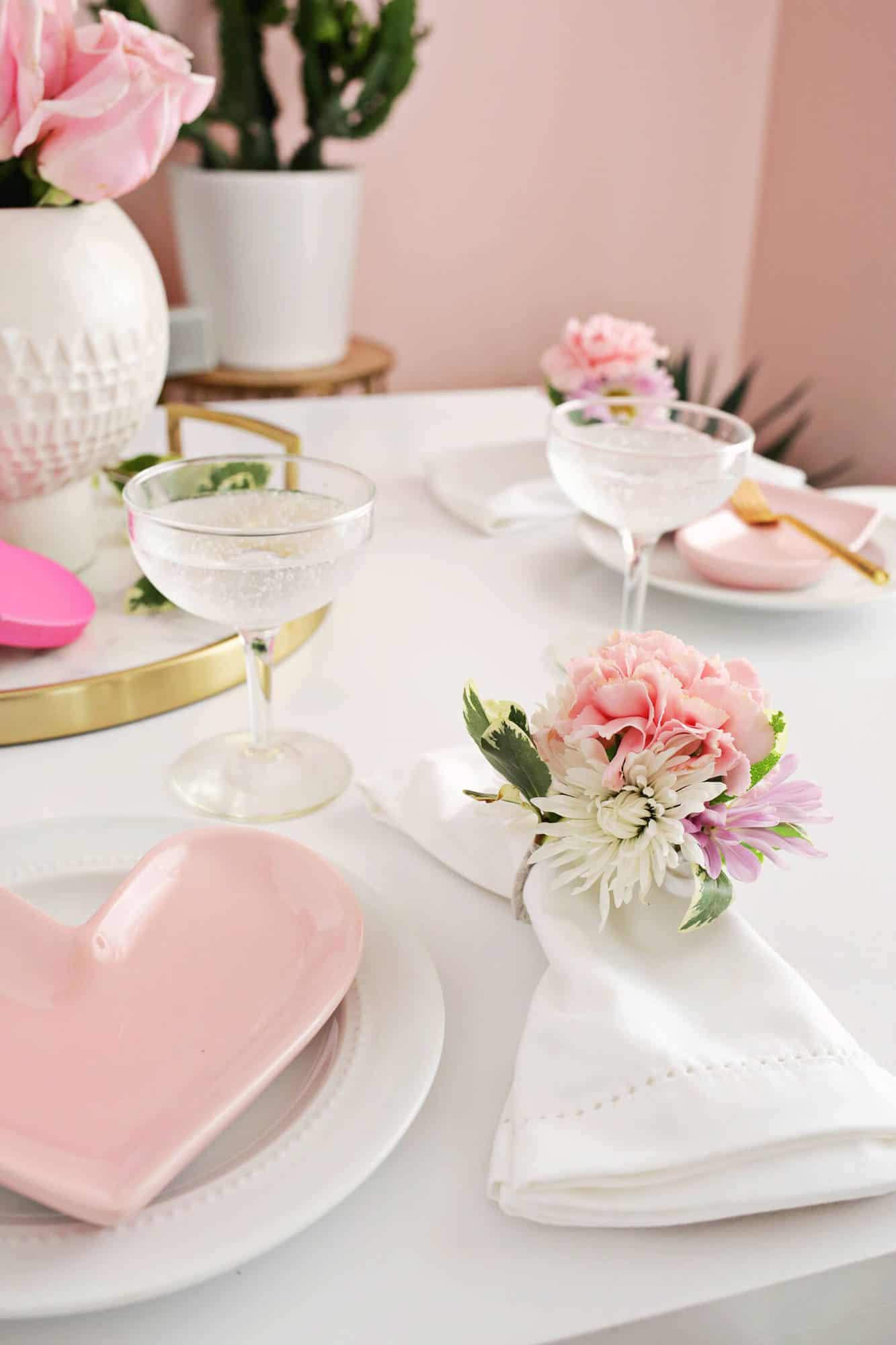 Flower Napkin Ring Diy A Beautiful Mess