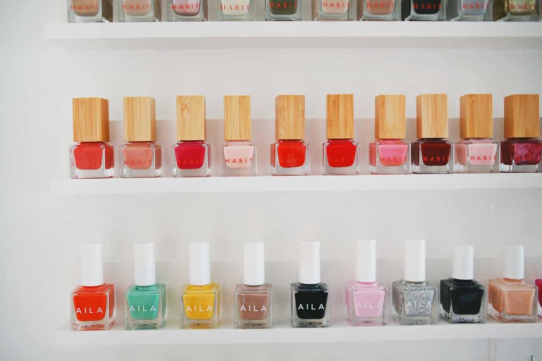 Easy Custom Nail Polish Shelves - A Beautiful Mess