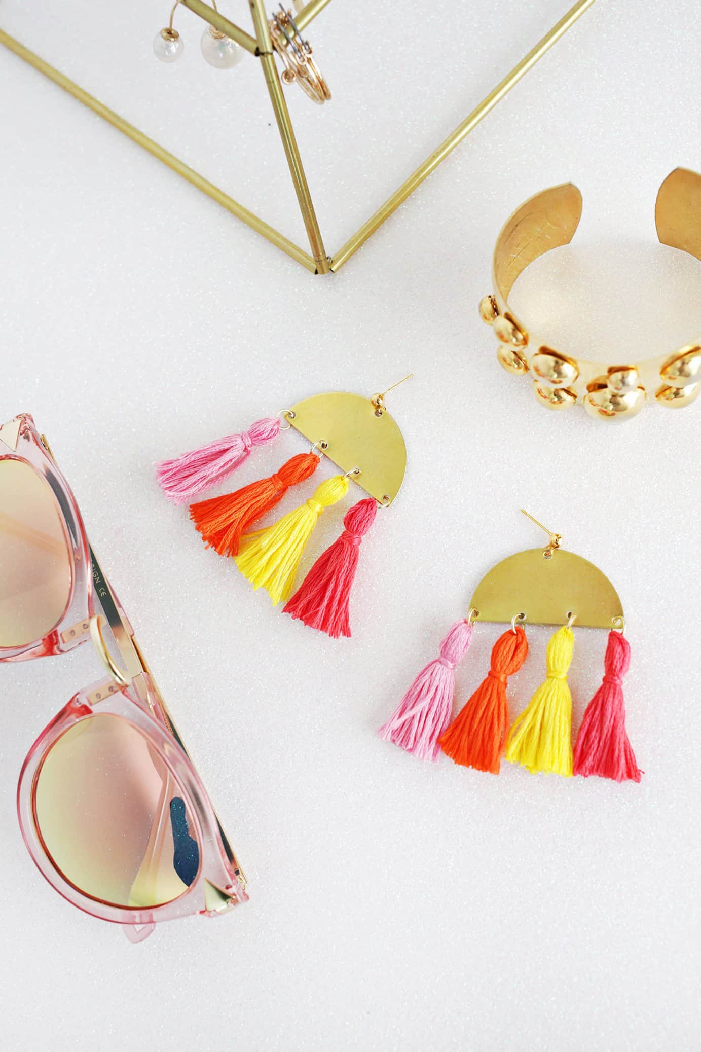 blog thatgirlarlene easy diy post earrings simple