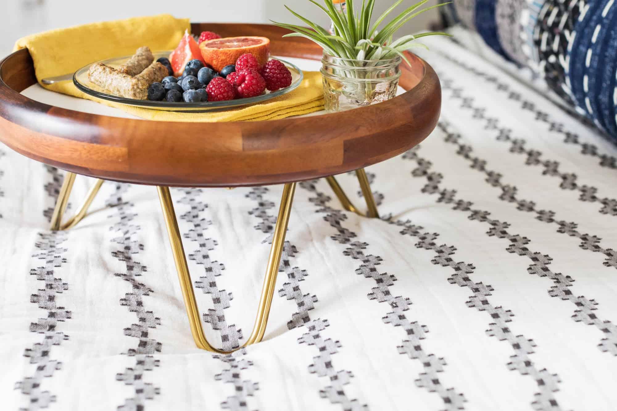 Haarnadel-Beinfrühstück-Behälter DIY