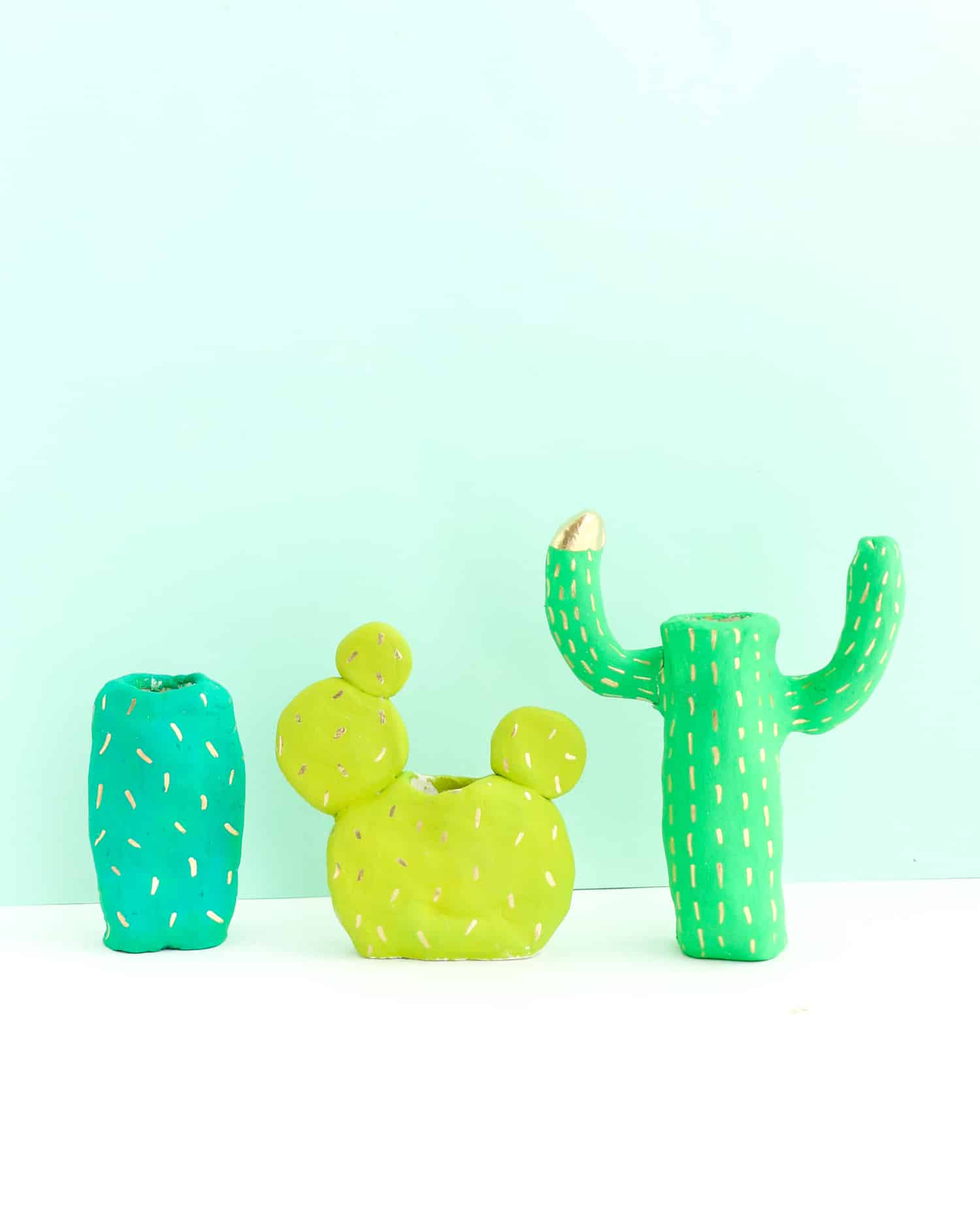 DIY-Clay-Cactus-Candle-Holders-Click-Through-for-Tutorial