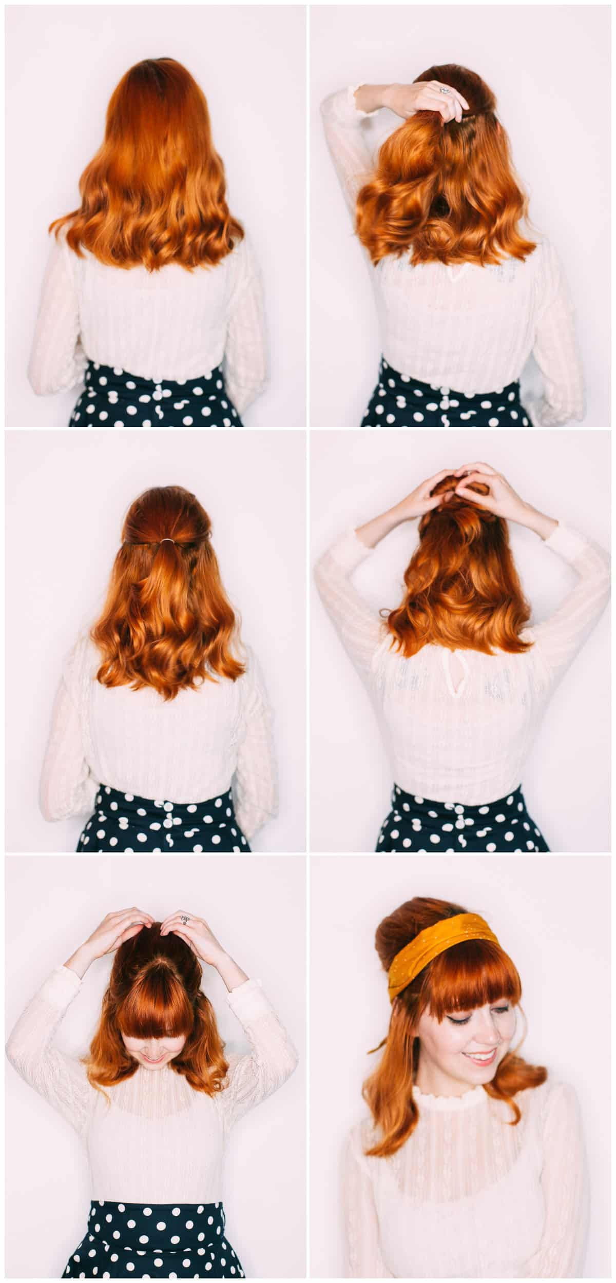 Five Easy Hairstyles With a Headband - A Beautiful Mess