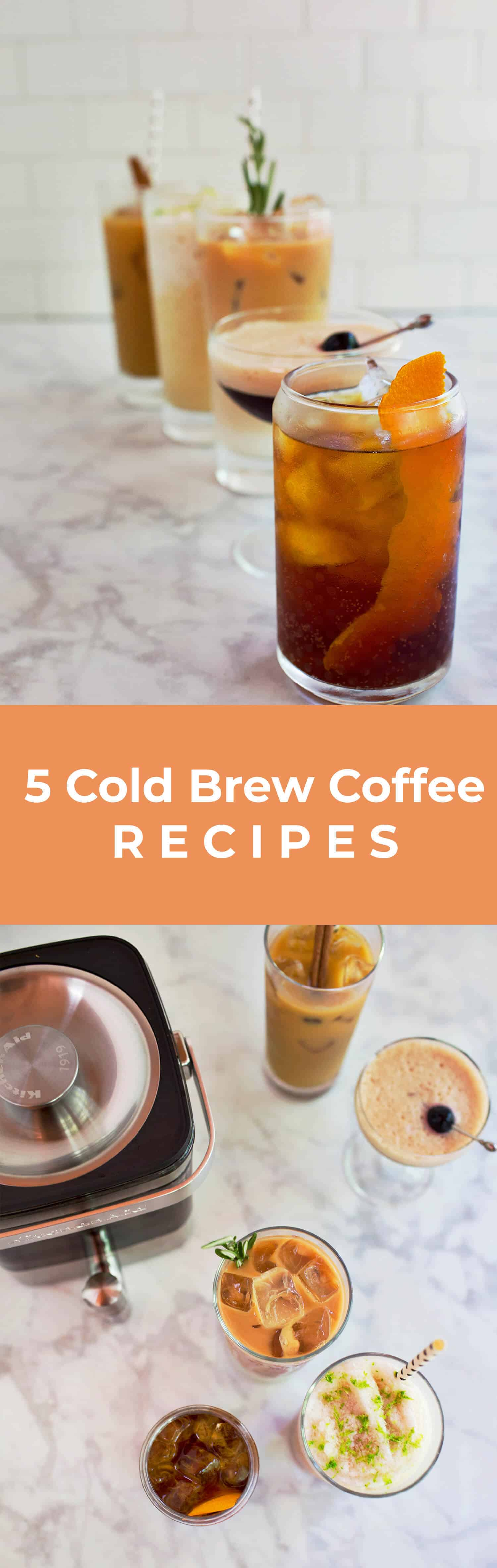 5 kalte Kaffeerezepte