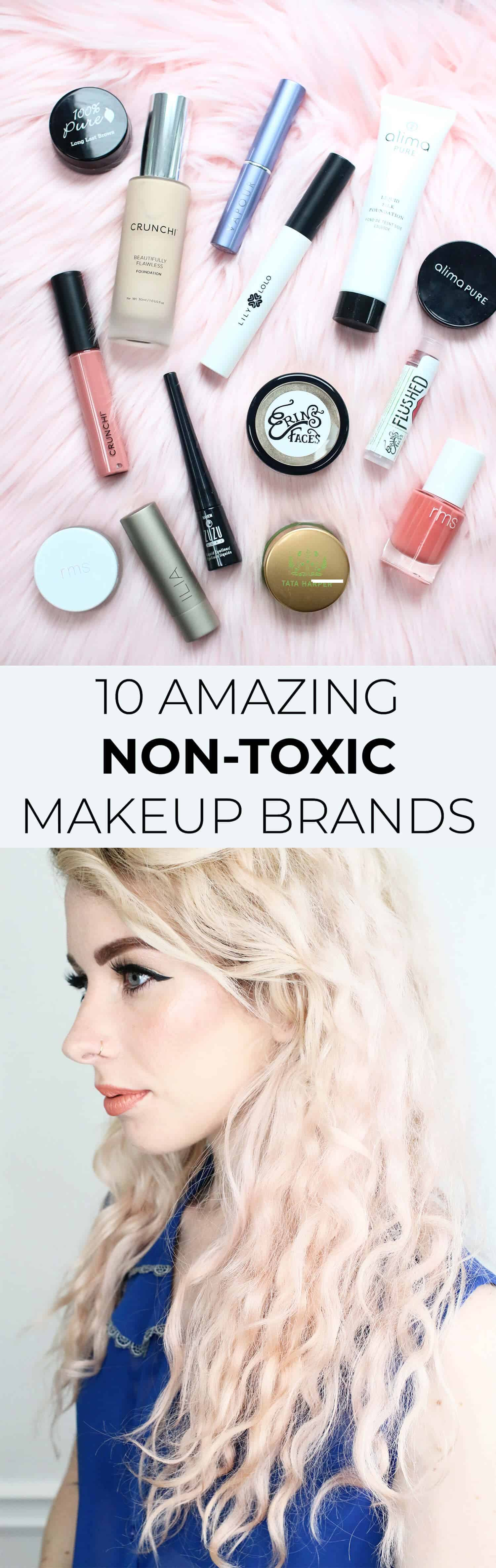 10 Nontoxic Makeup Brands To Try A