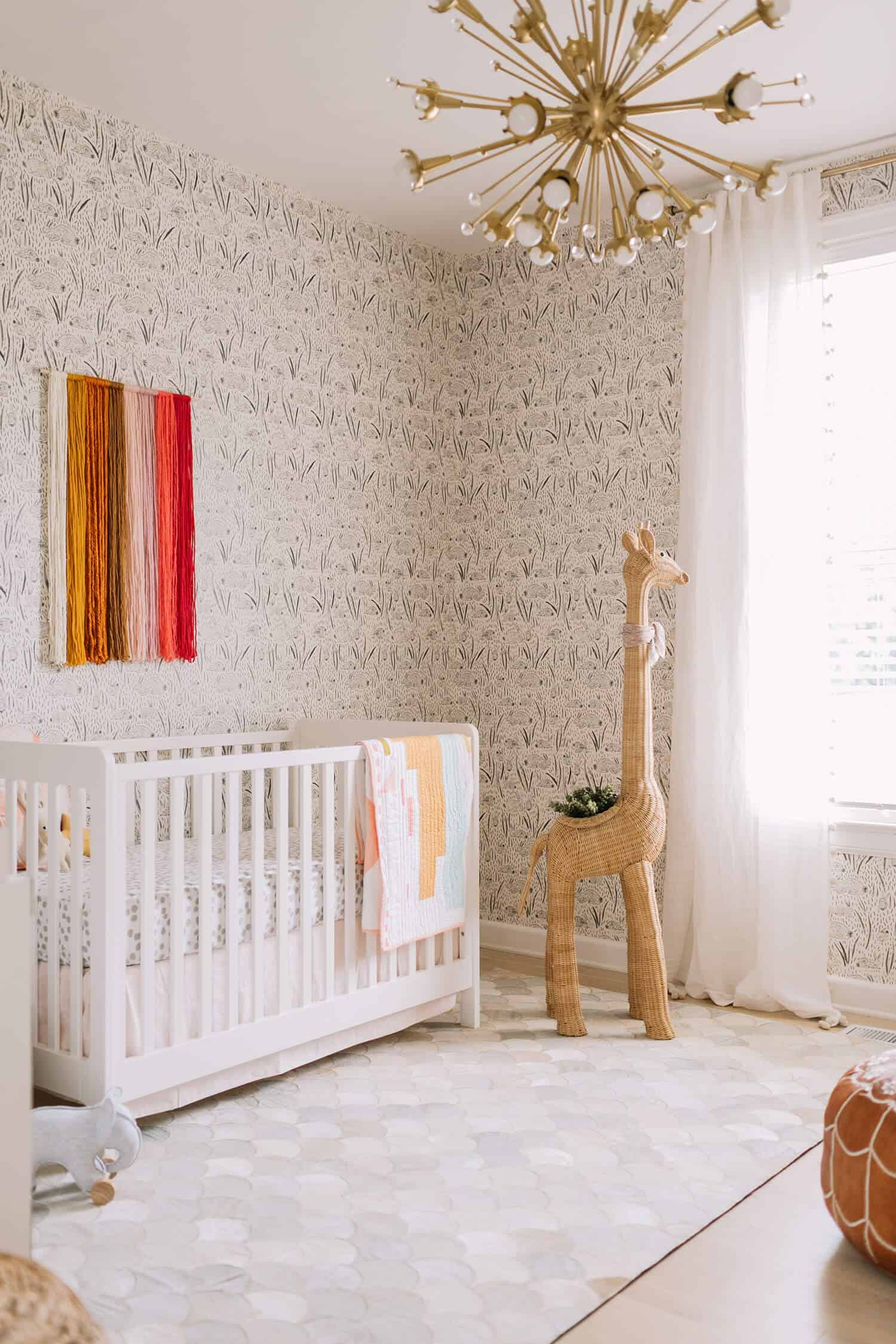 I Am So Hy To Share Our Daughter S Future Nursery With You All Today It Has Been My Favorite Design Project Ever As Soon Started