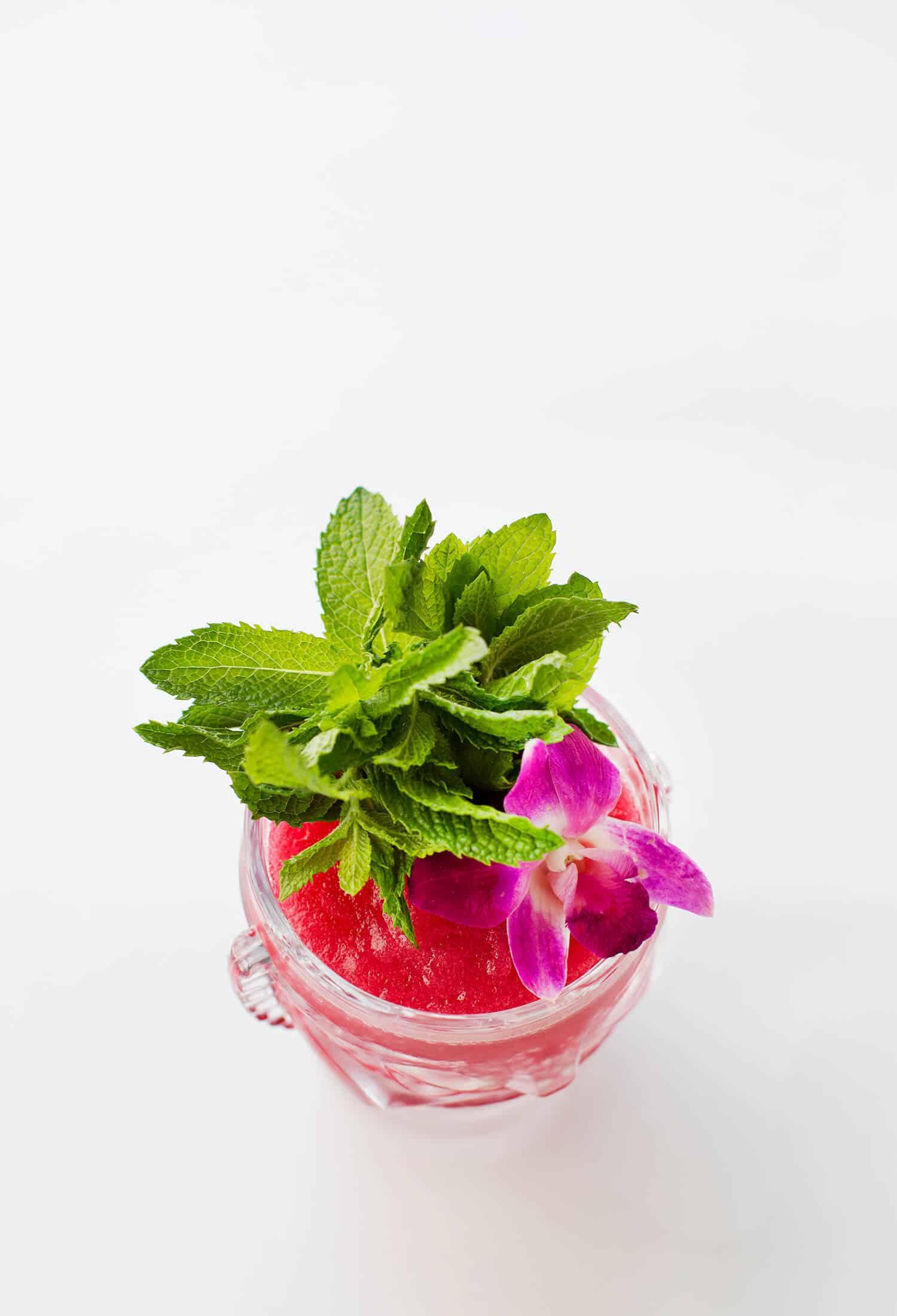 Gefrorene Hibiskus-Margarita