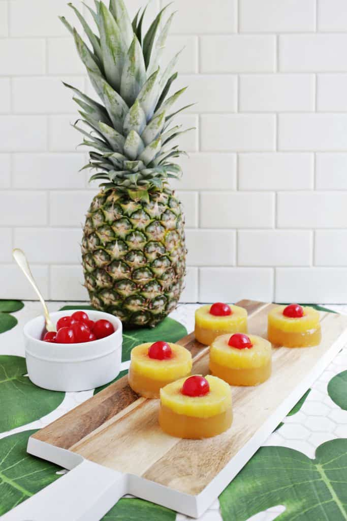 pineapple shaped cake pineapple cake jello a beautiful mess 6546