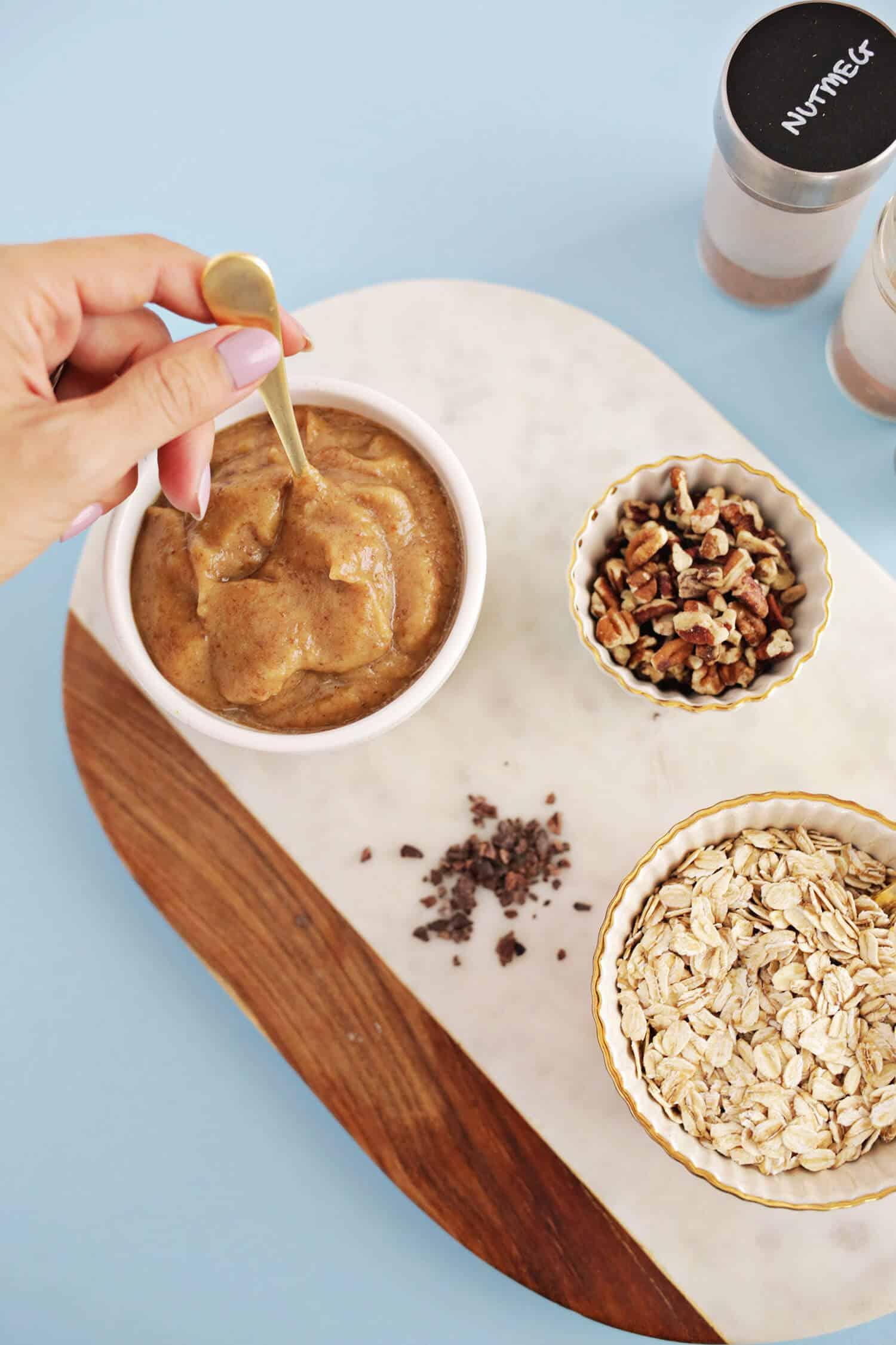 Schokoladen-Pekannuss-Müsli