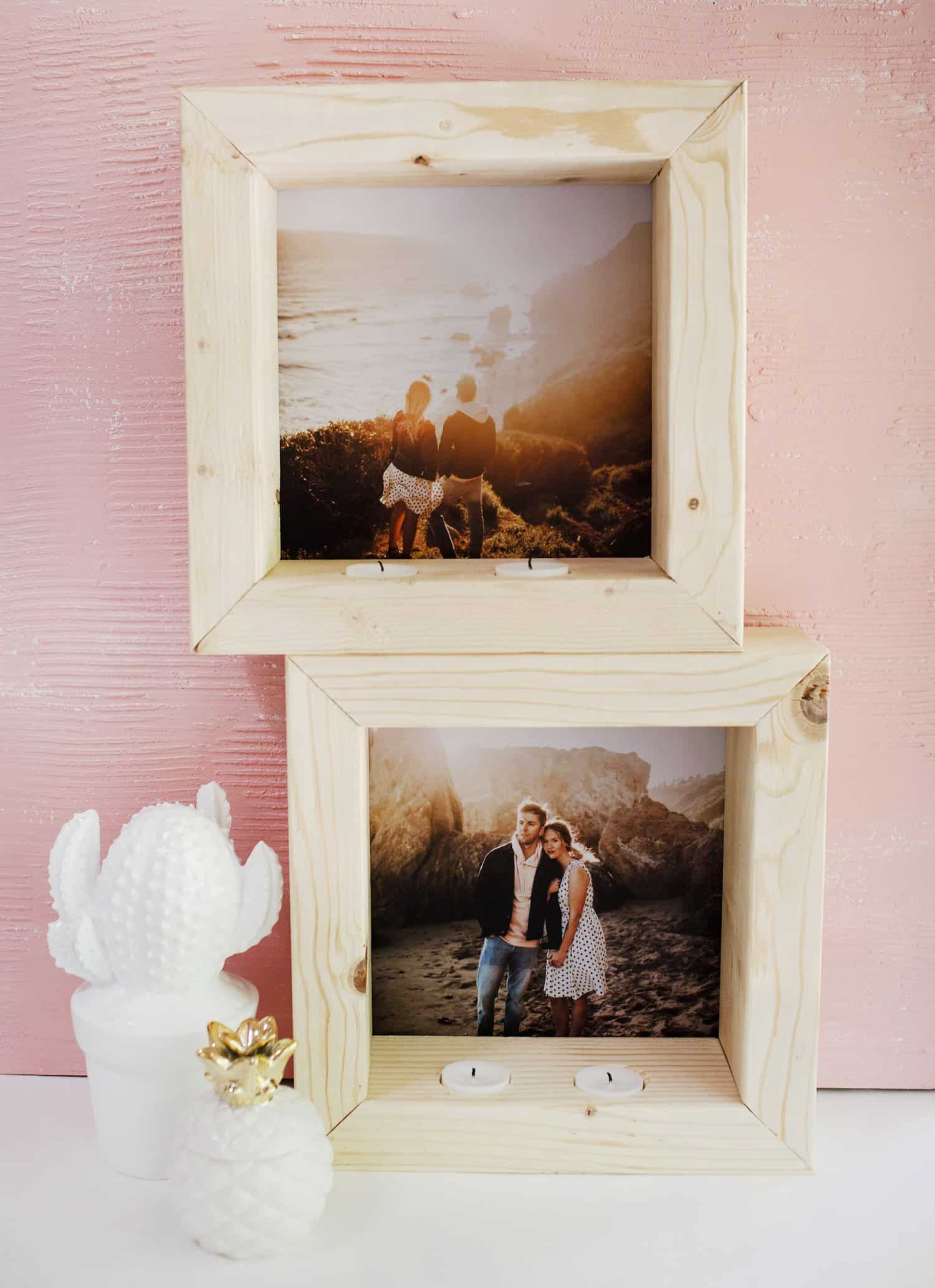 Try this color engineer prints a beautiful mess diy tea light photo frame malvernweather Gallery
