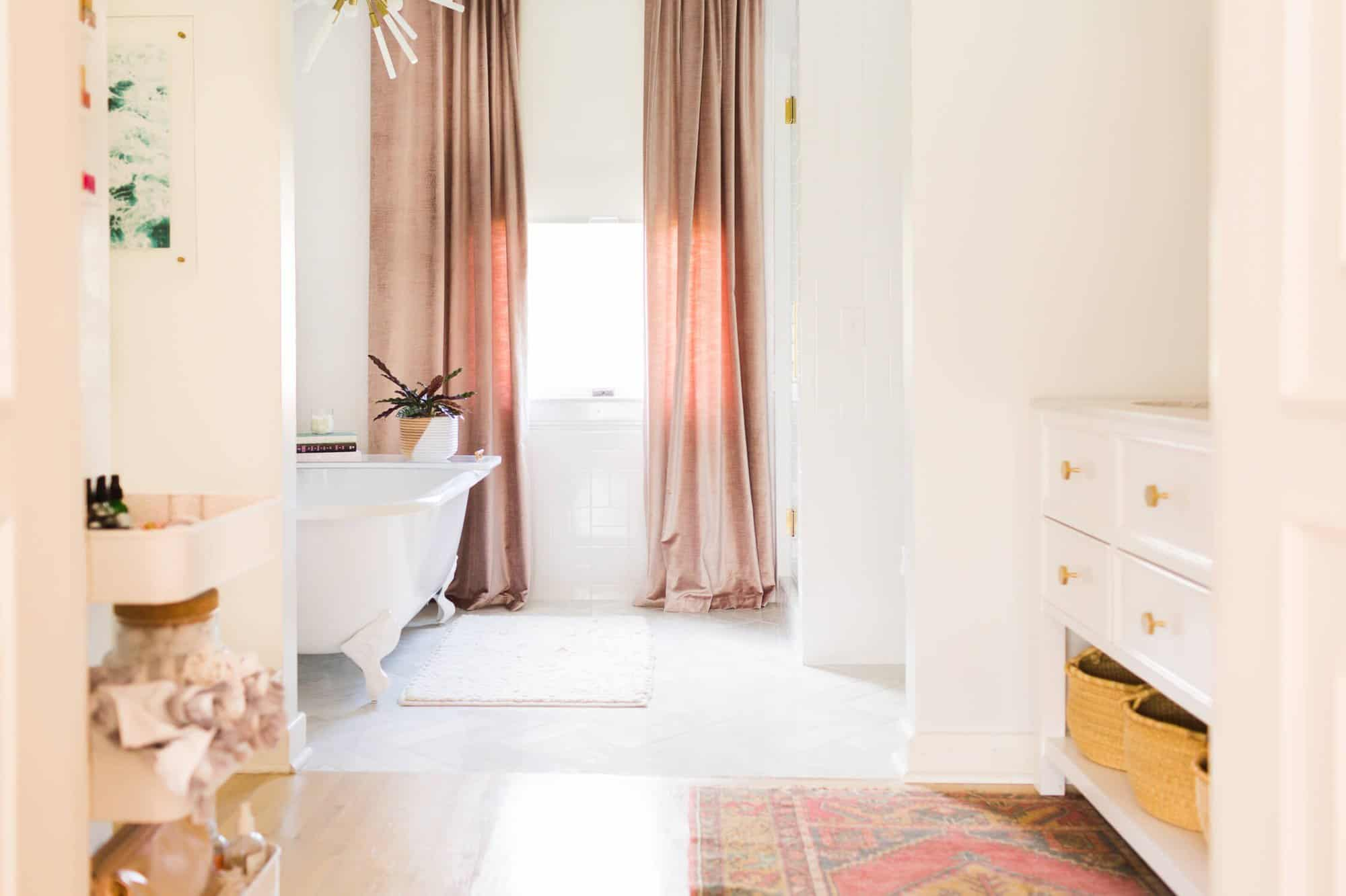 Elsie's Master Bathroom Tour (Before + After) - A Beautiful Mess