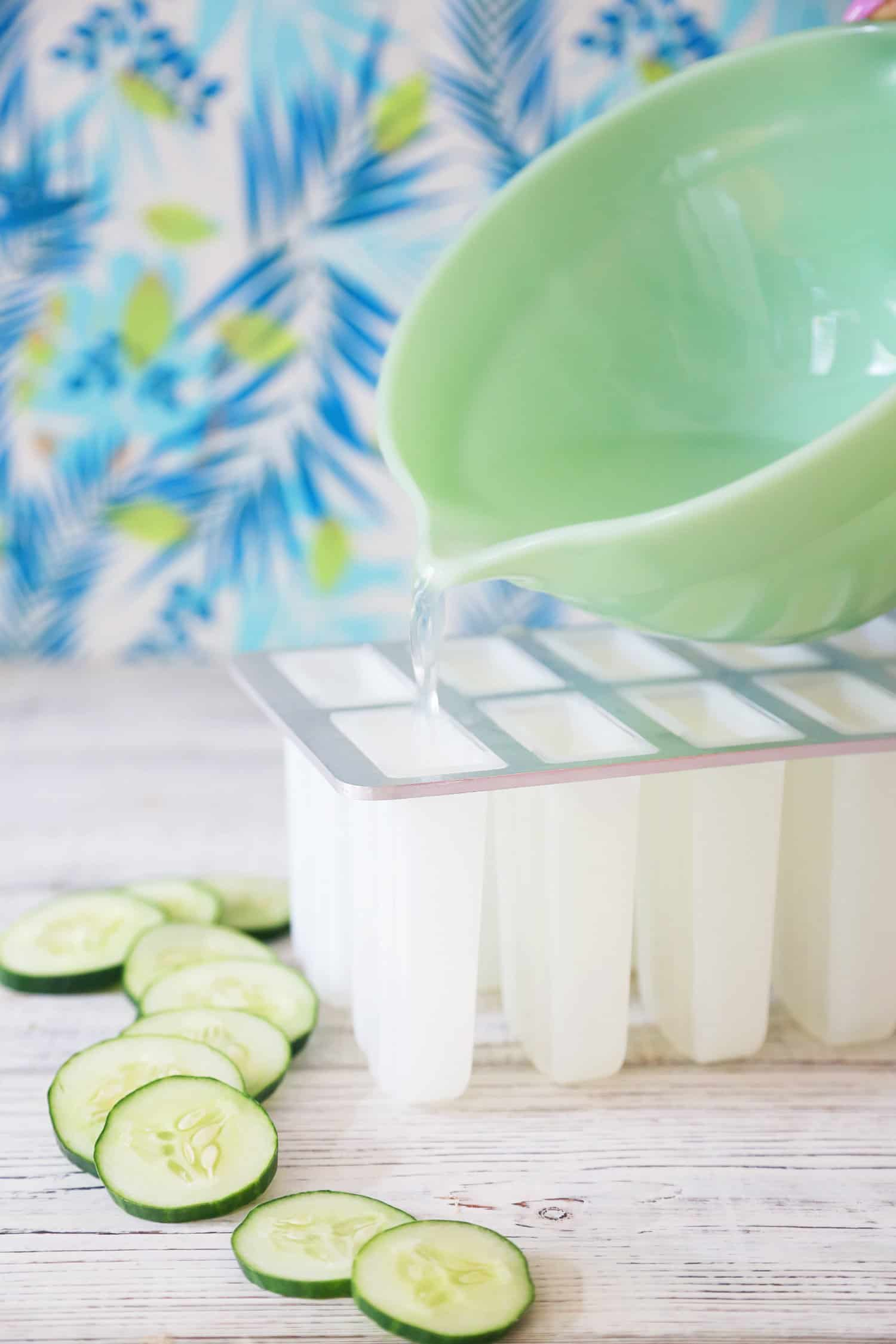 Gin + Tonic Popsicles