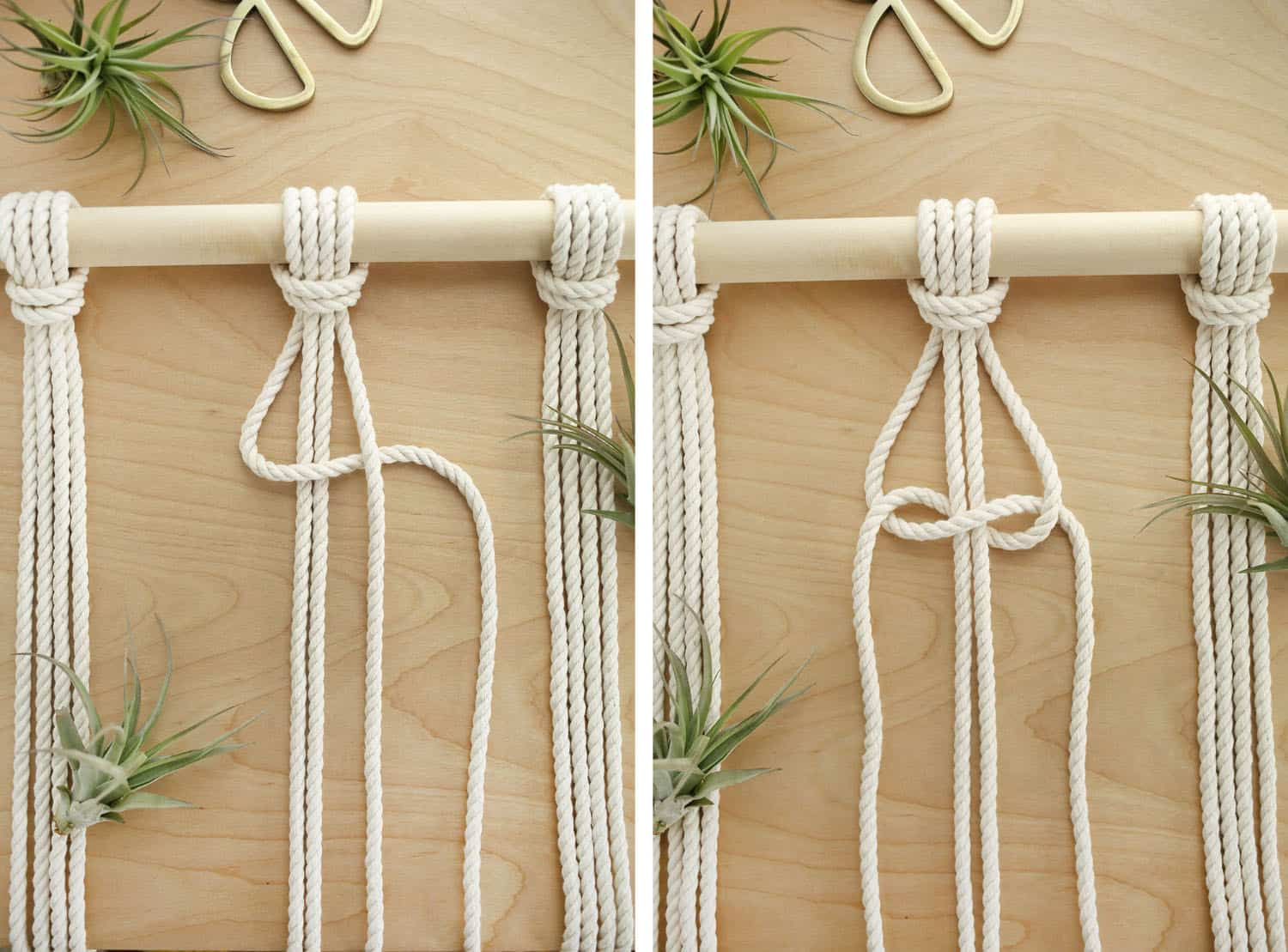 Macrame Room Divider DIY – A Beautiful Mess