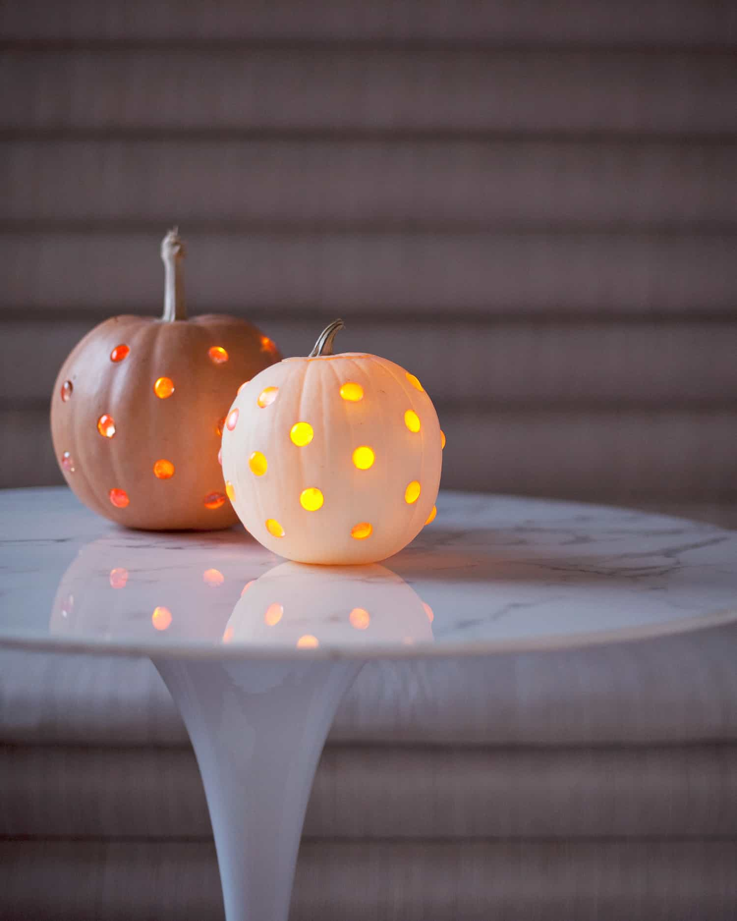 Glass Bead Jack O Lanterns