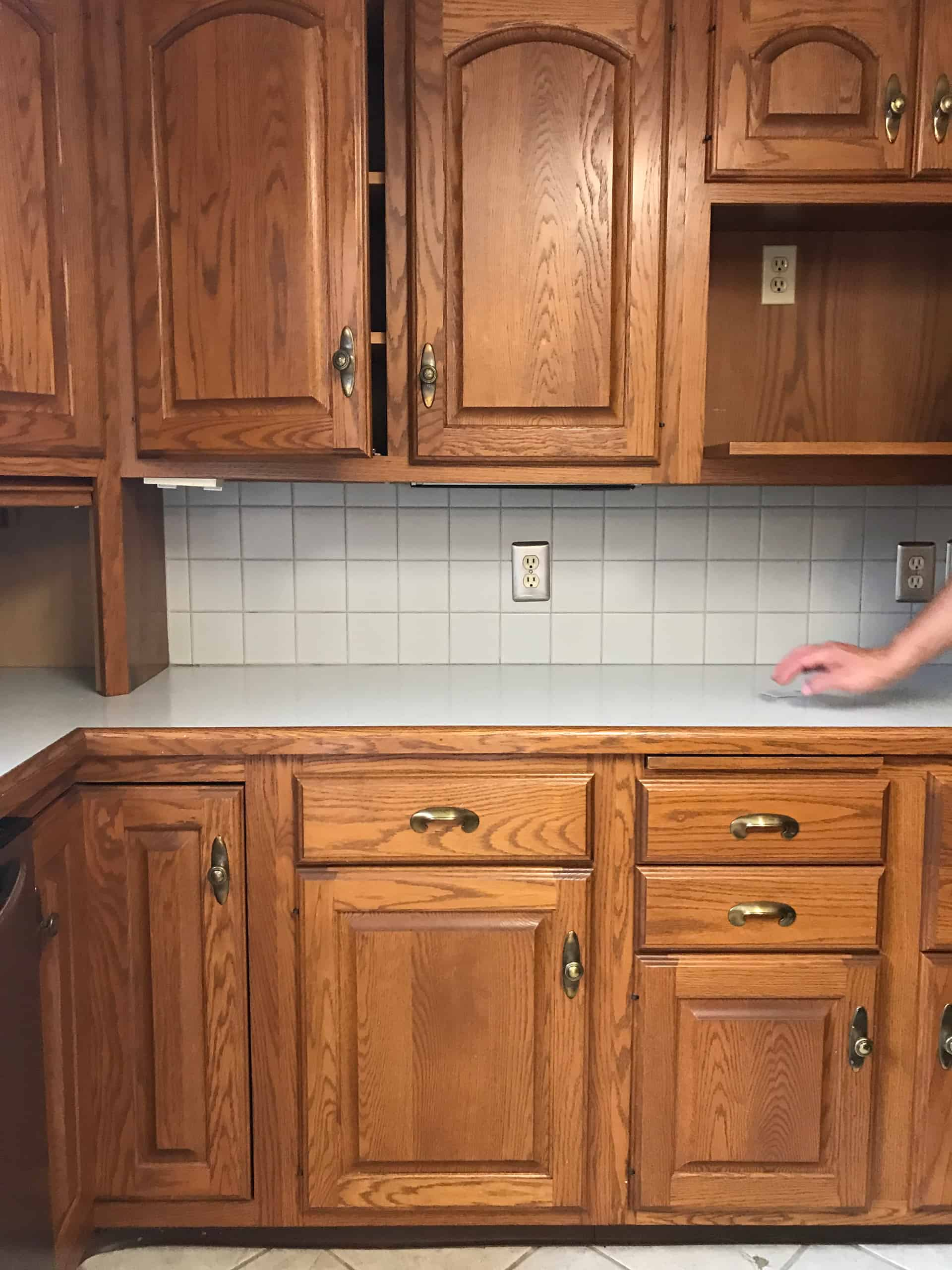 Painting kitchen cabinets with annie sloans chalk paint