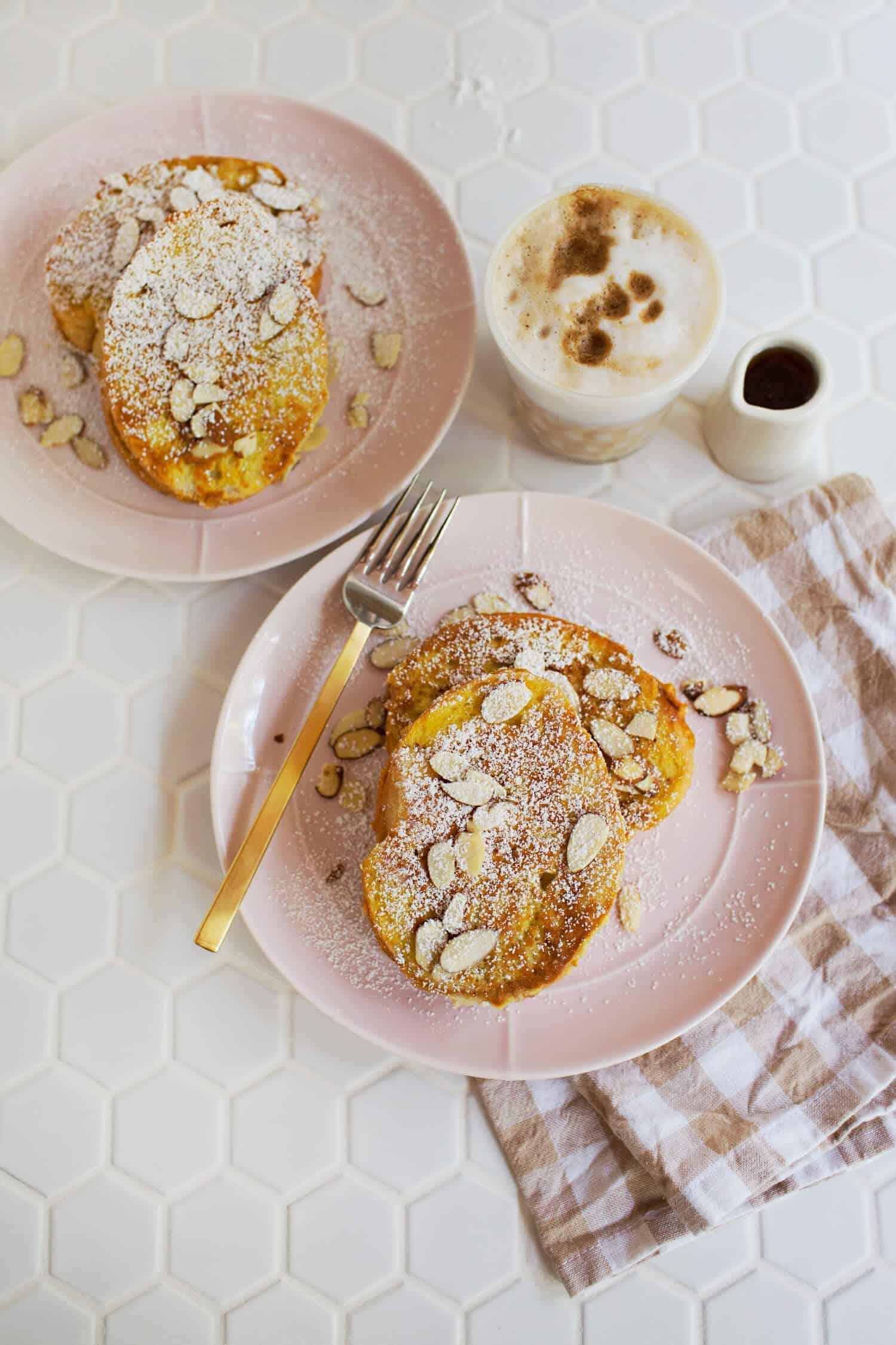 Seasonal Pumpkin Stuffed French Toast
