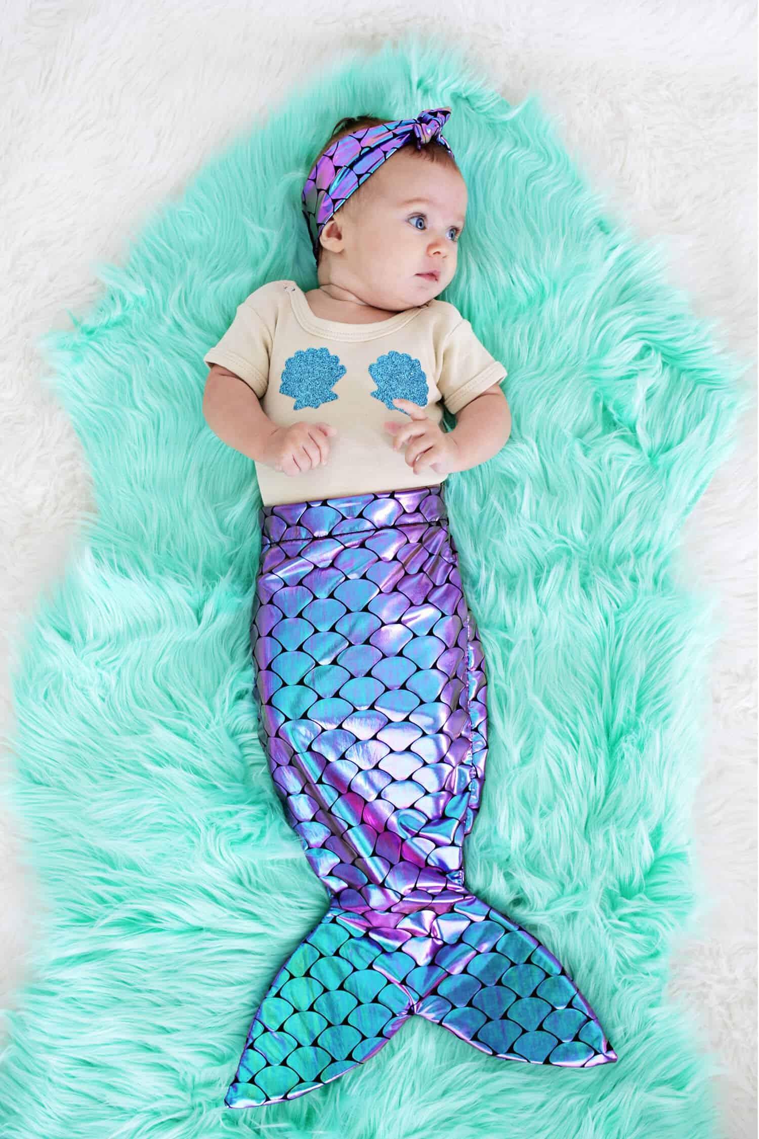 Mother Daughter Mermaid Costume Diy A Beautiful Mess