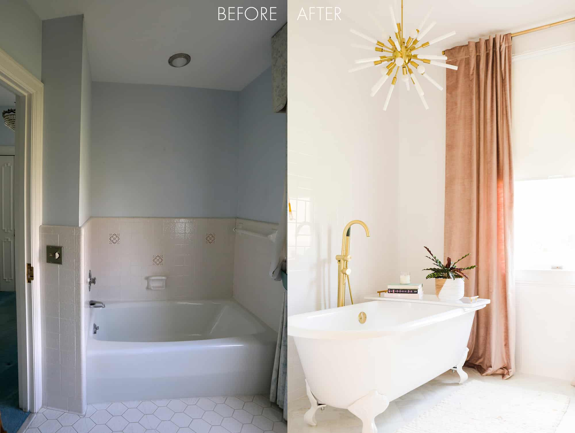 Elsie\'s Master Bathroom Tour (Before + After) - A Beautiful Mess