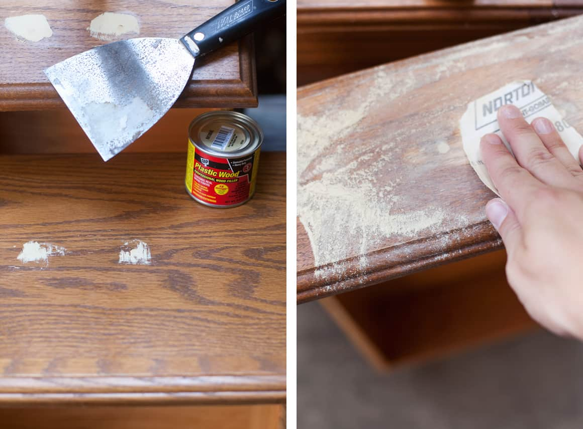 filling cabinet holes