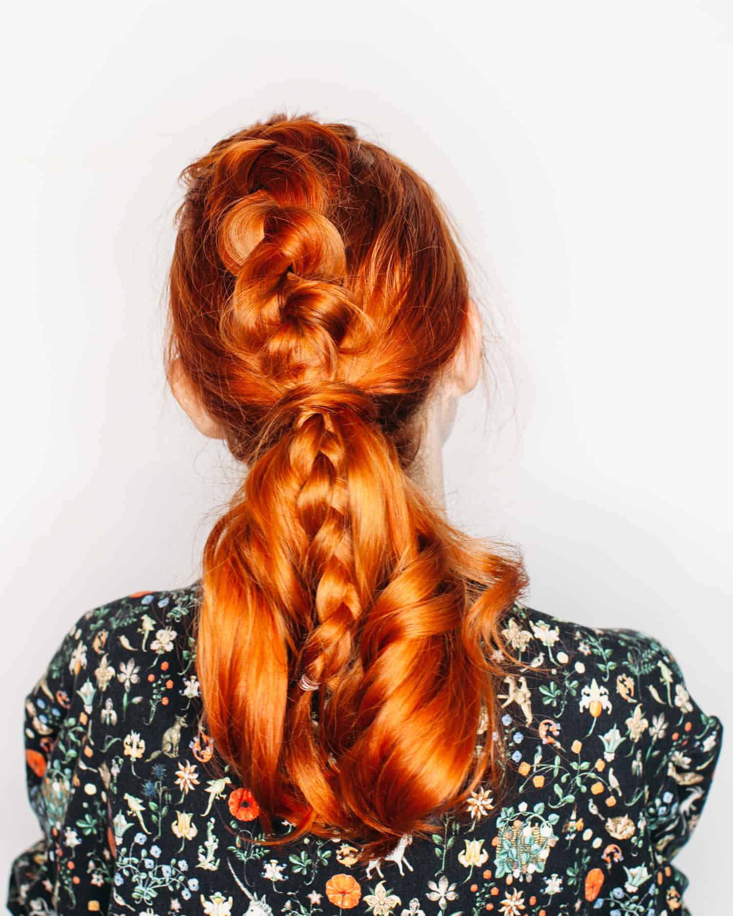 Top Braided Ponytail A Beautiful Mess