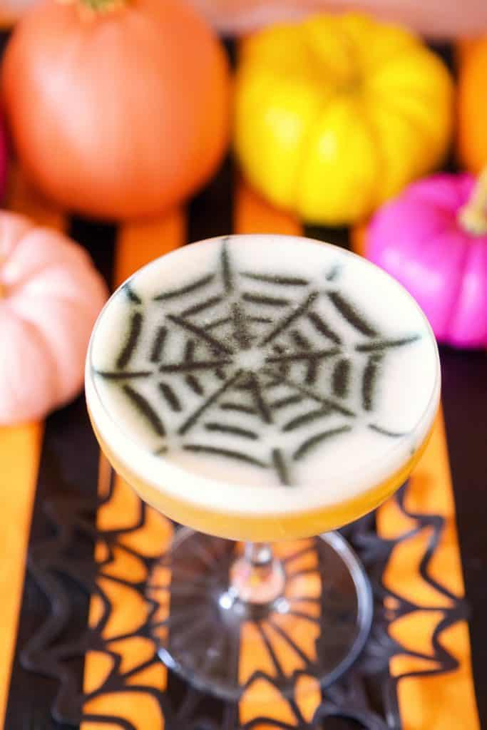 Halloween Cocktail Stencil Diy A Beautiful Mess