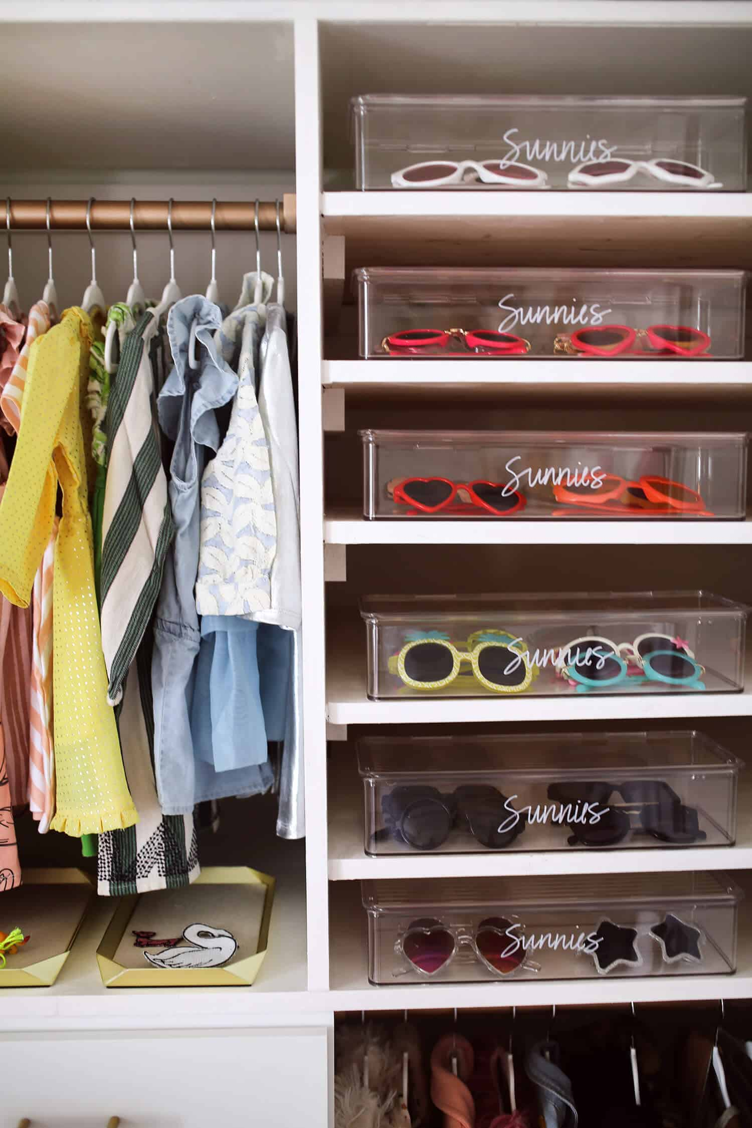 Merveilleux Tip 2: Use Organizing Supplies That Will Grow With Your Child. Whether Itu0027s  Baskets, Bins, Or Shoe Boxes, Choose A Size That Will Work In Their Closet  For ...