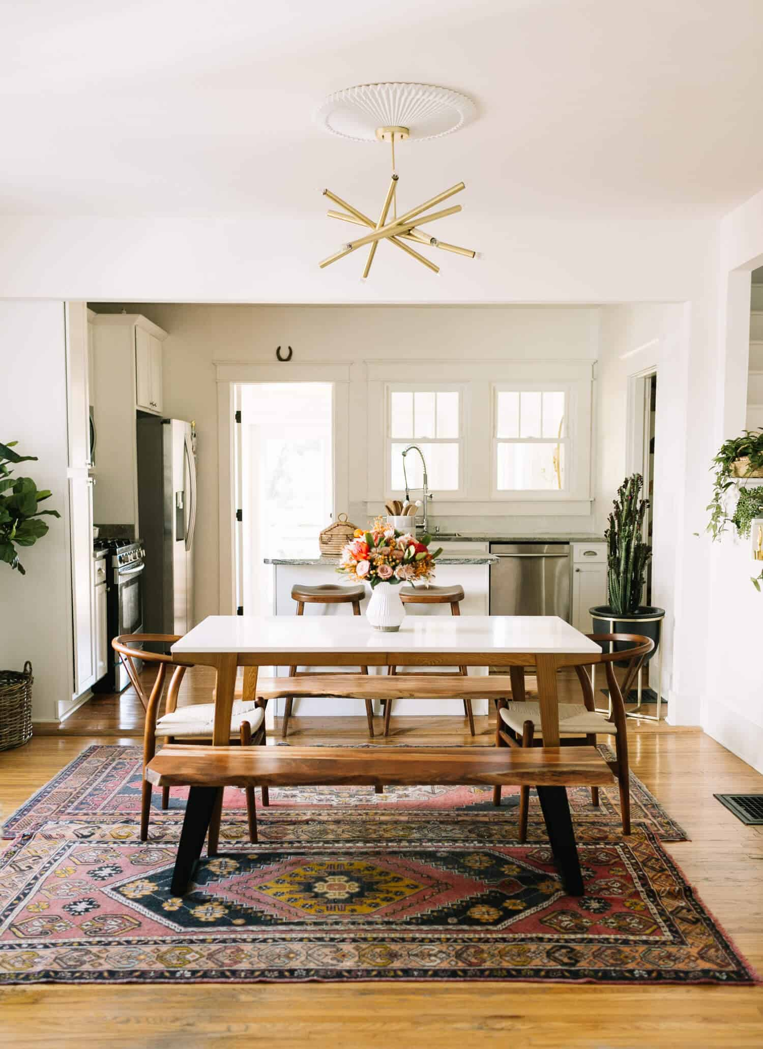 dining room rug ideas kacey musgraves dining room tour a beautiful mess 7645