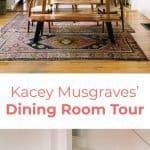 Kacey Musgraves 'Speisesaal-Tour