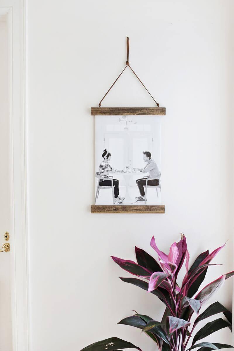 15 Möglichkeiten, Fotos in Ihrem Zuhause anzuzeigen