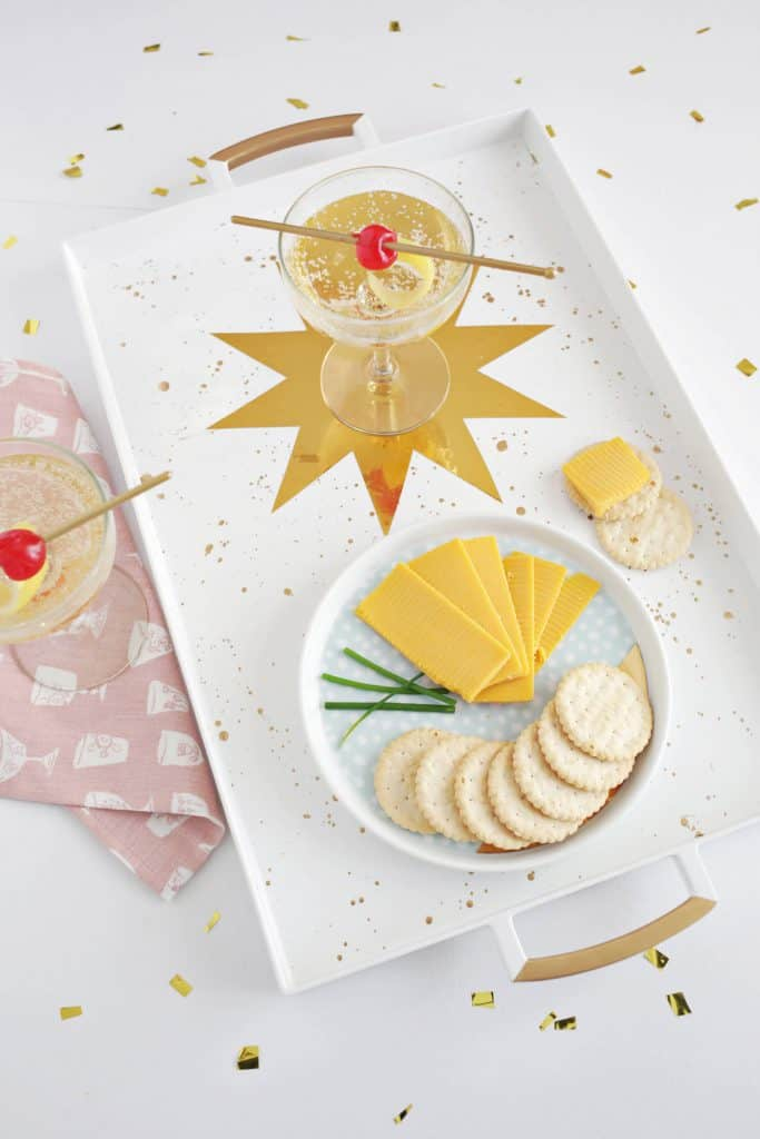 Gold Star Serving Tray (Perfect For New Year's Eve!) - A ...