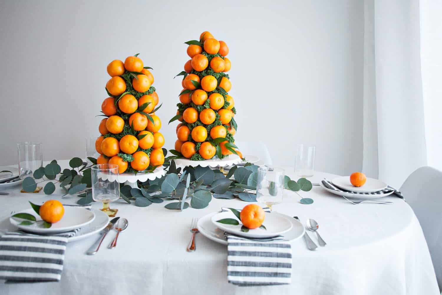 Citrus Table Decorations