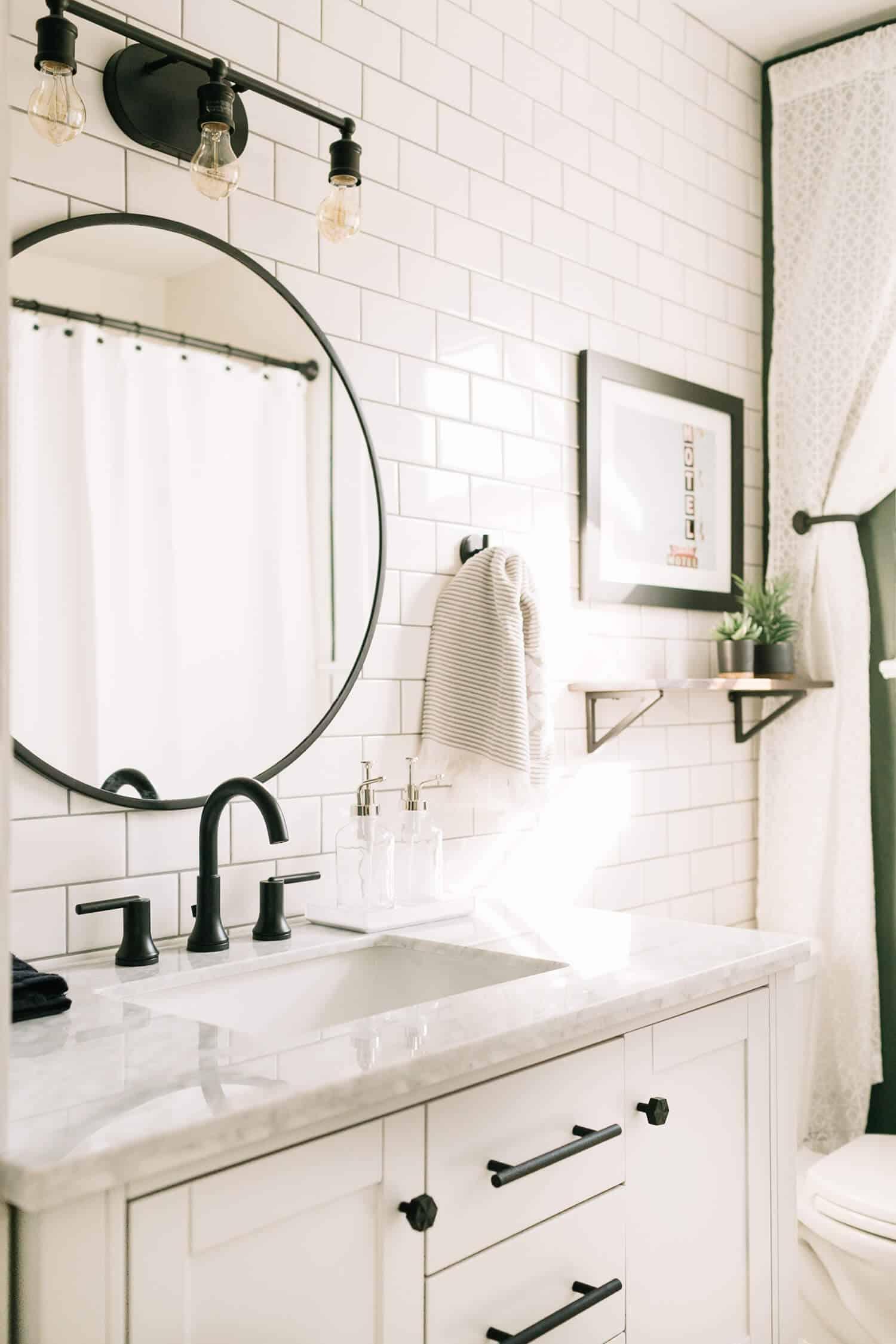 Elsiesnashvillebnb Bathroom Tour (Before + After) - A Beautiful Mess