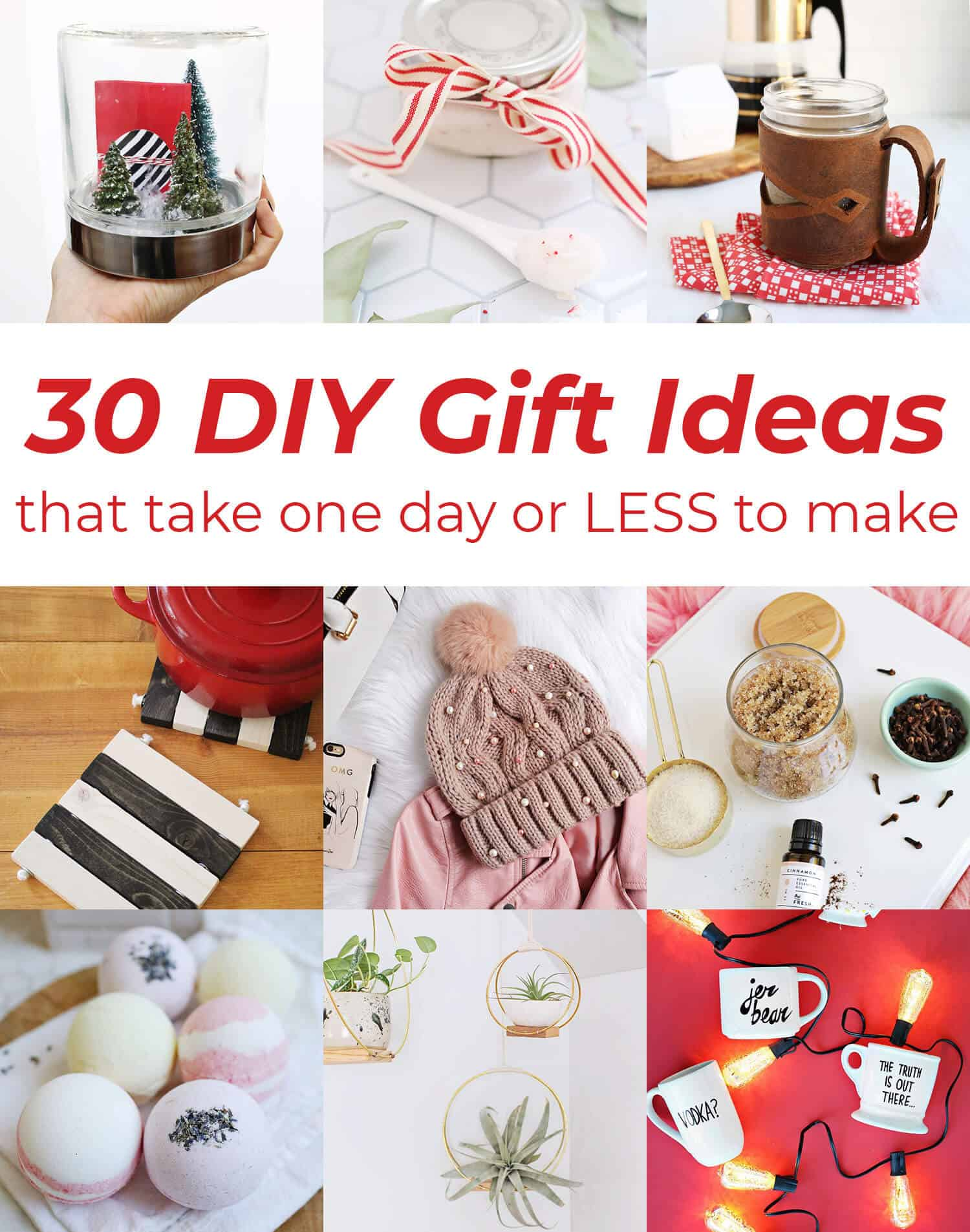 30 Diy Gift Ideas A Beautiful Mess