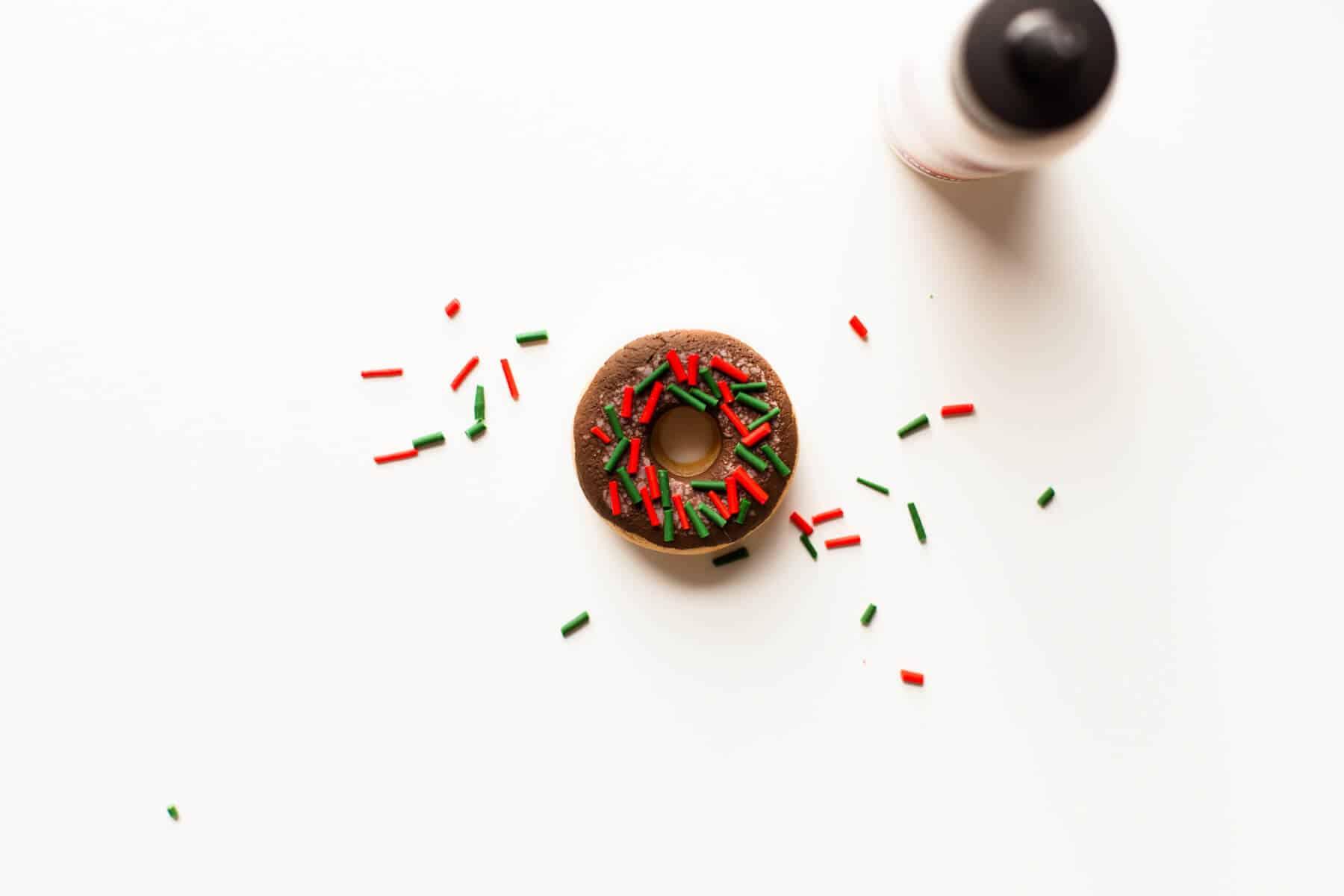 DIY Salzteig Donut Ornamente