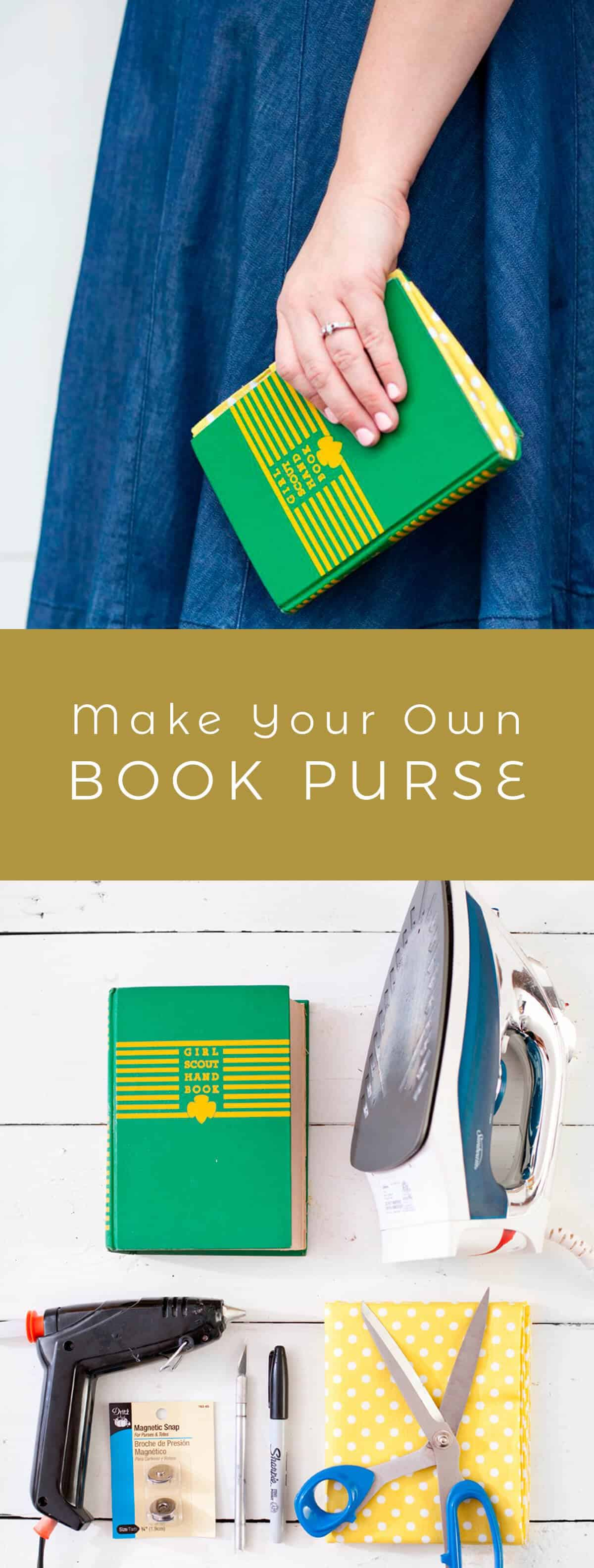Turn an old book into a new purse a beautiful mess share on pinterest share on facebook share on twitter share by email solutioingenieria Choice Image