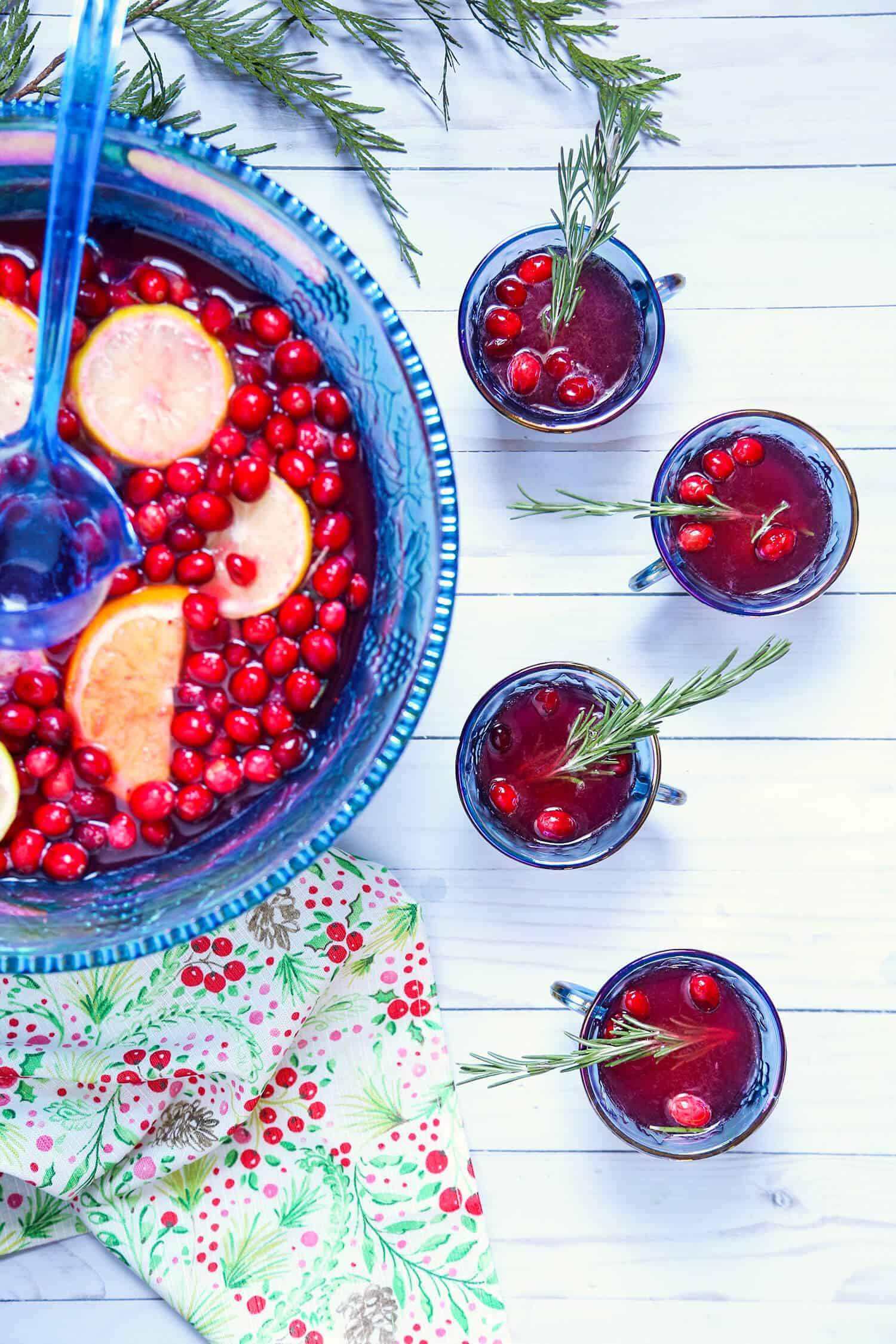 Spiced Cranberry Punch