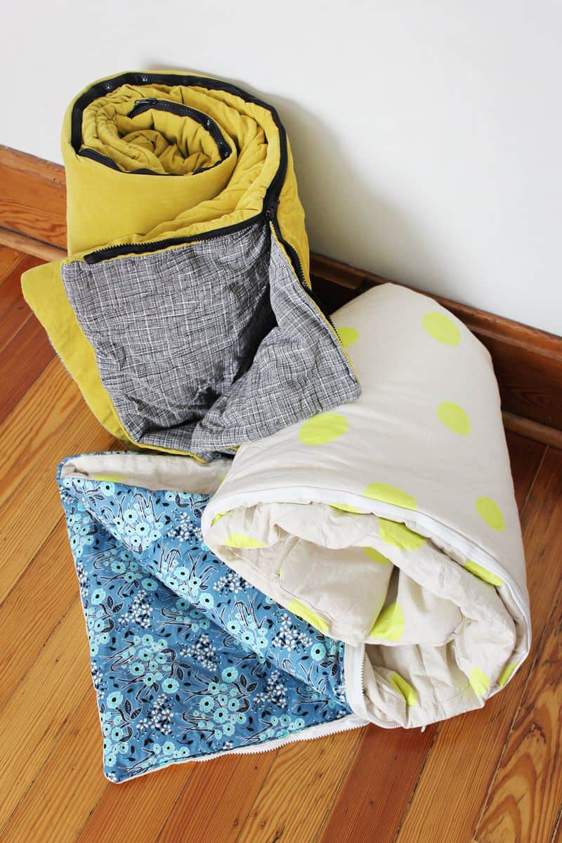 It S Not Always Easy To Find Cute Sleeping Bags For The Occasional Glamping Trip Or A Weekend Sleepover Lucky You Easier Than Looks Make