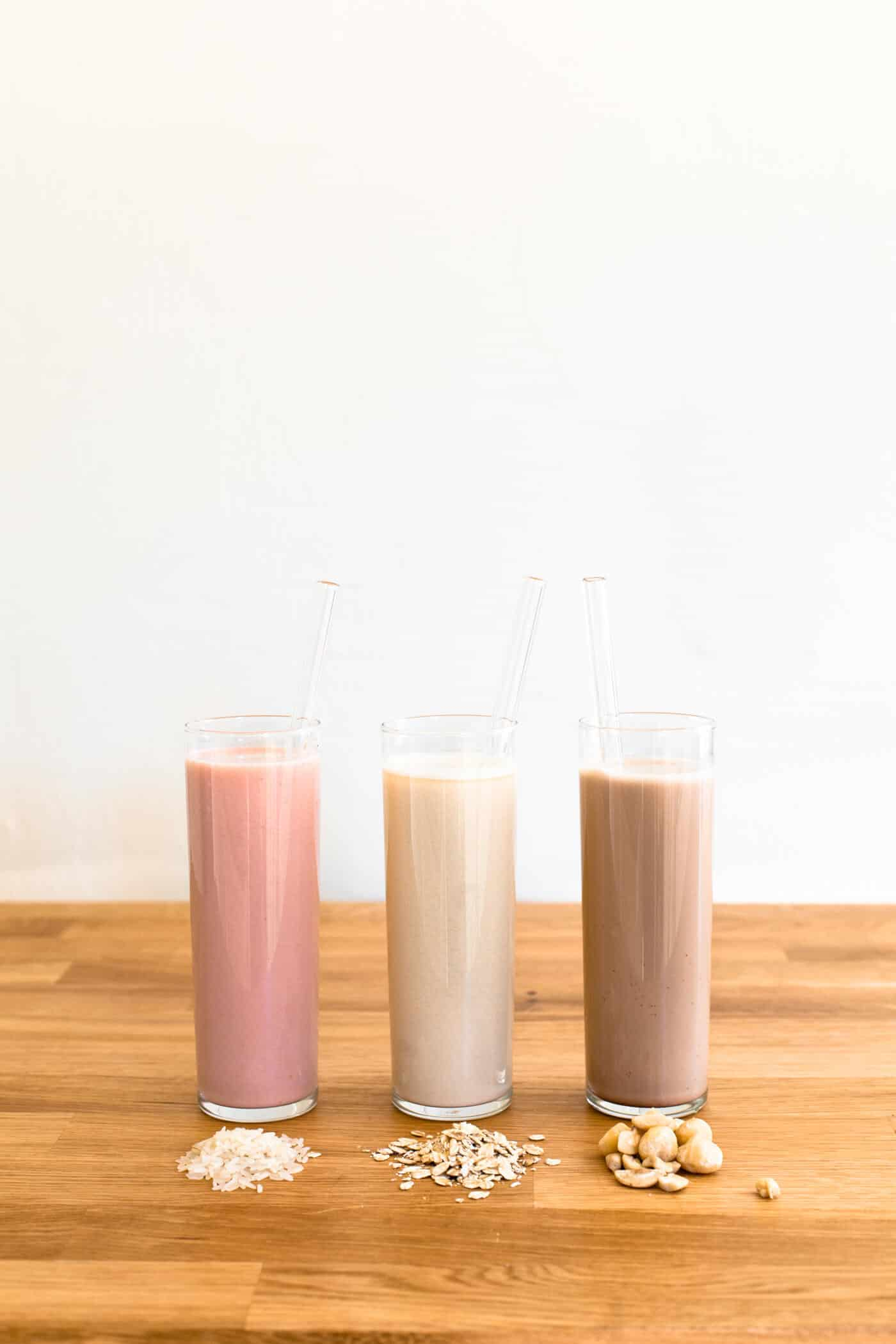 Homemade Non Dairy Milk 3 Ways A Beautiful Mess