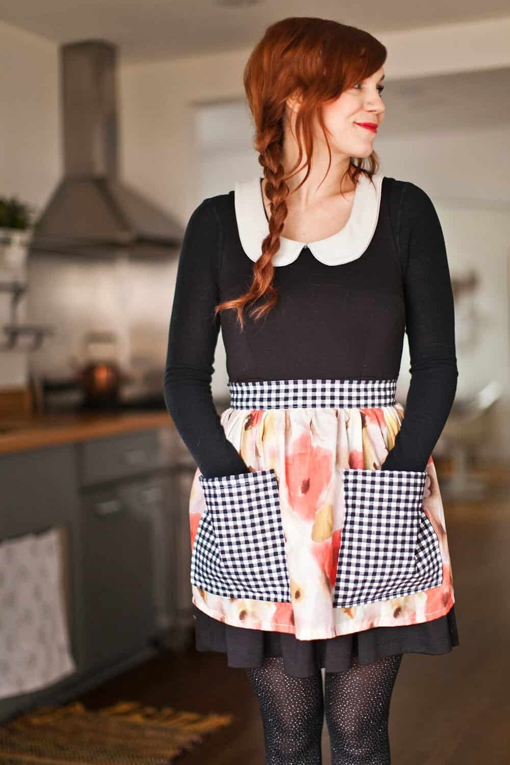Sew Your Own Half Apron
